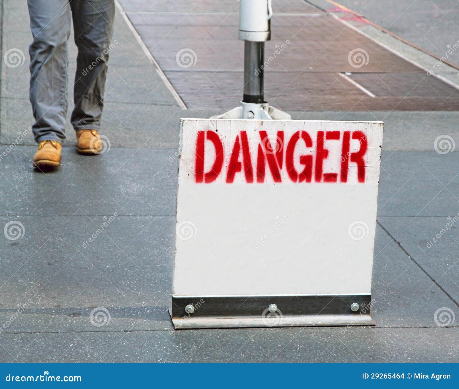 Het Teken van het gevaar