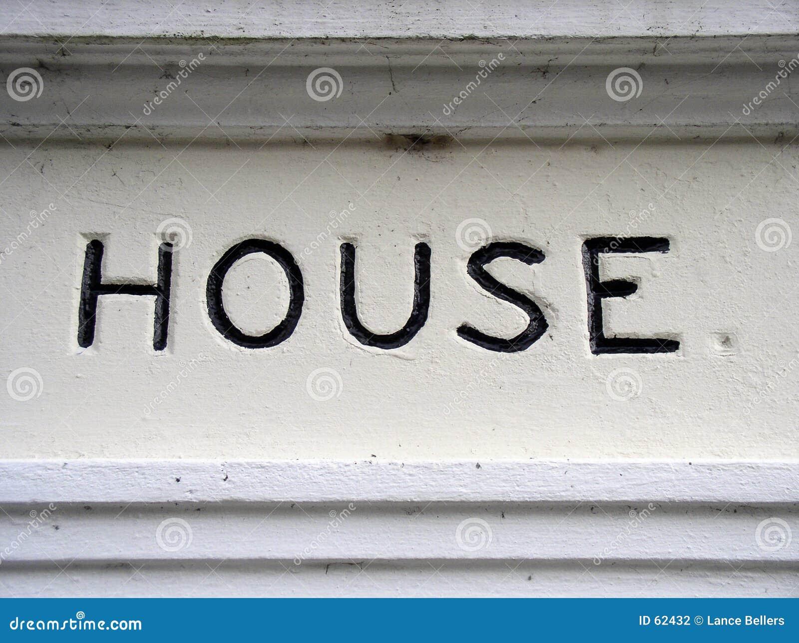 Het teken van het huis