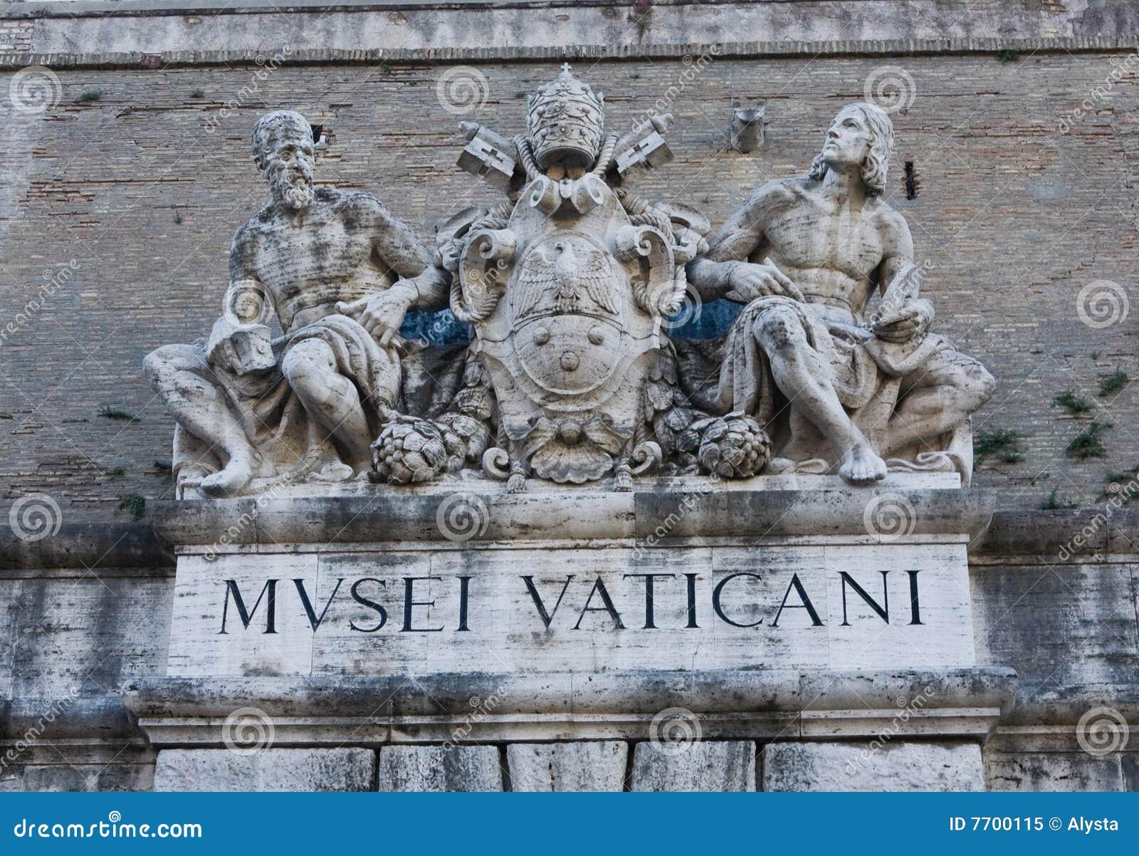 Het Teken van het Museum van Vatikaan