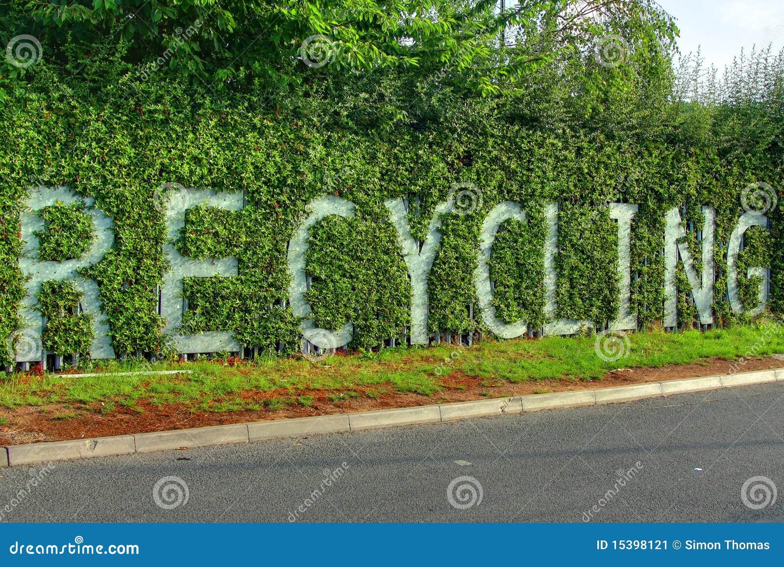 Het Teken van het recycling