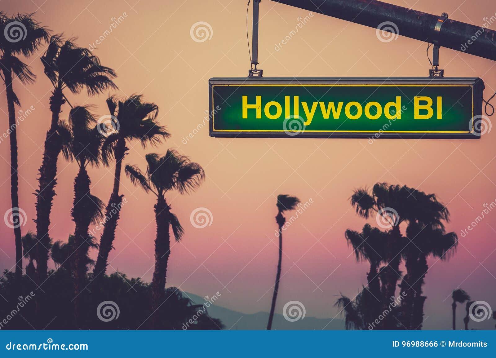 Het Teken van Hollywoodblvd