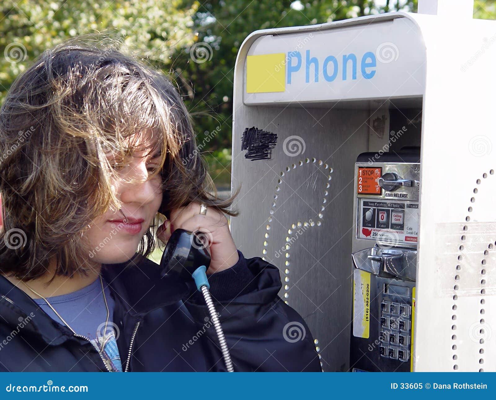 Het telefoneren van