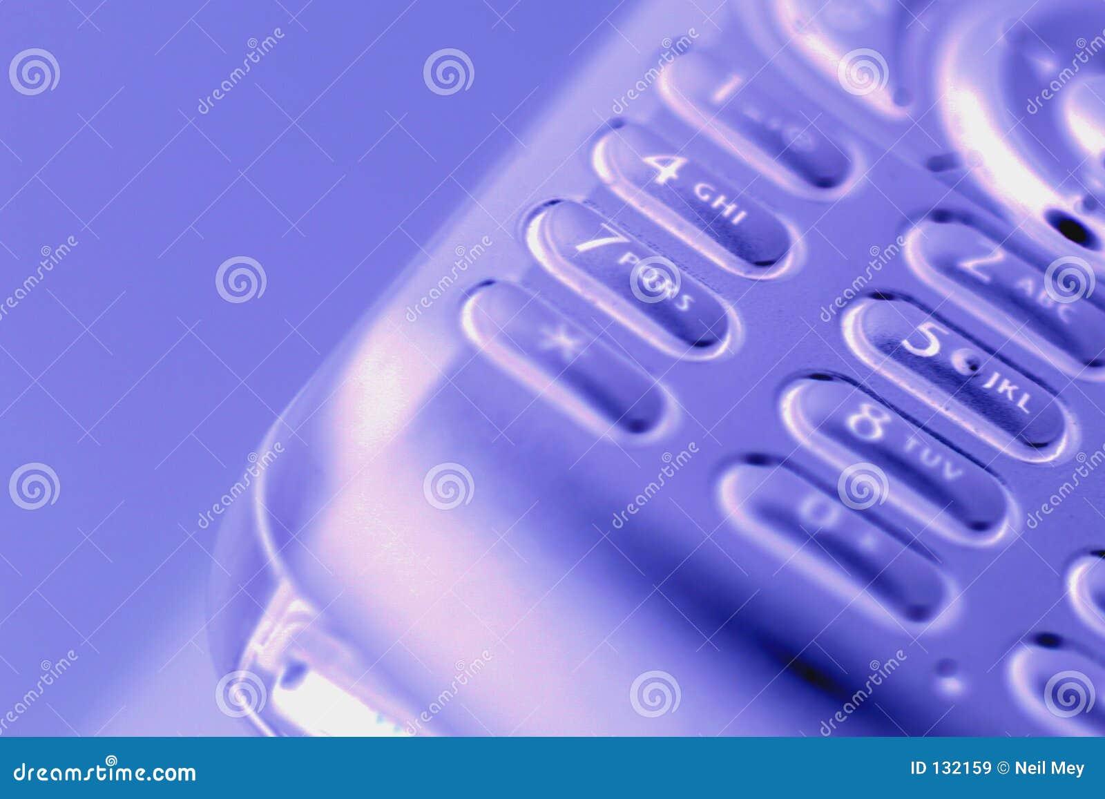 Het telefoongesprek van de cel Weg