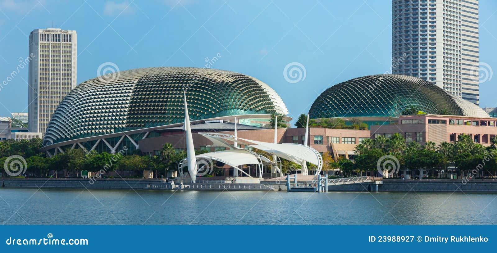 Het Theater van de promenade in Singapore