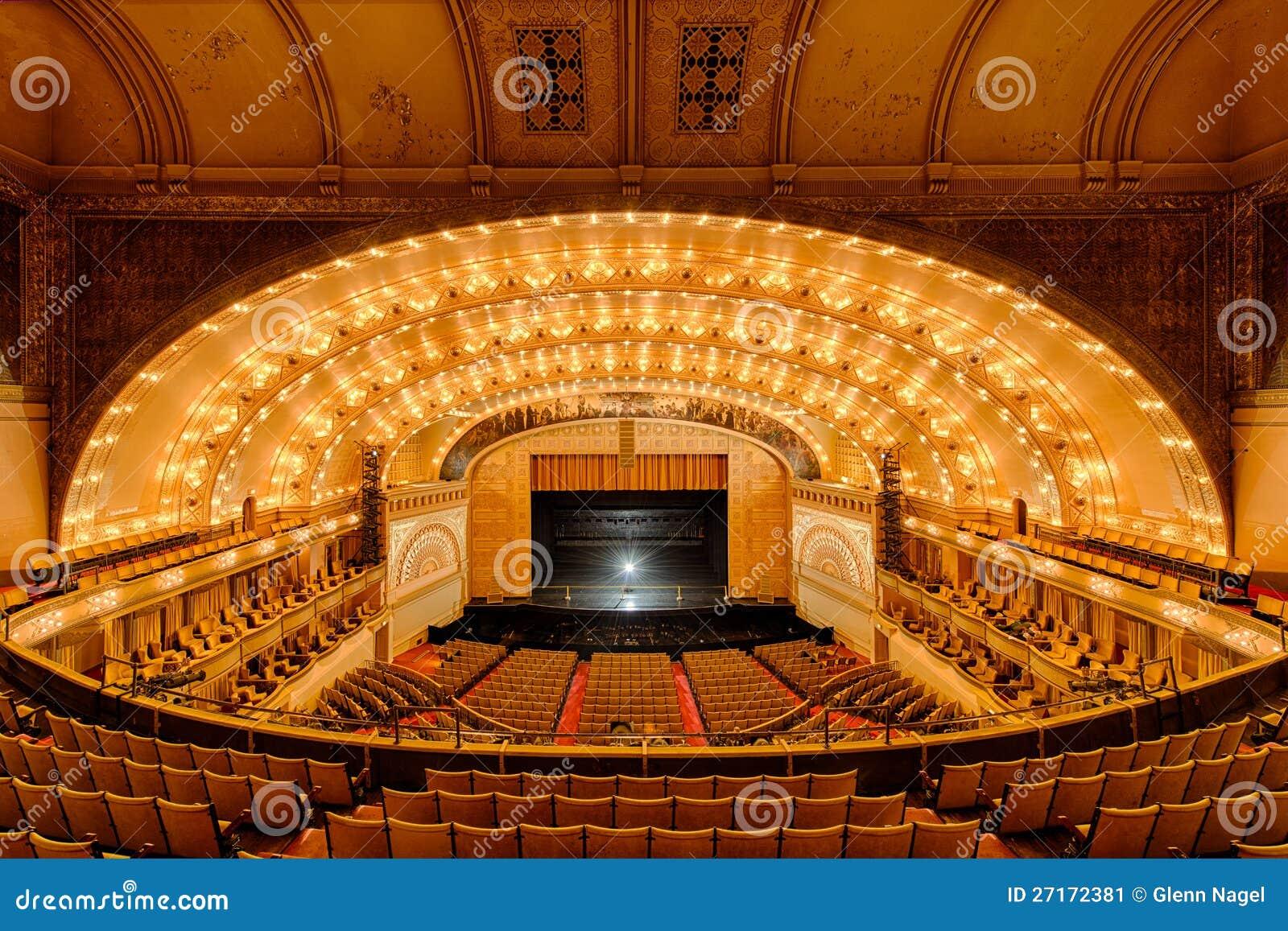 Het Theater van het auditorium