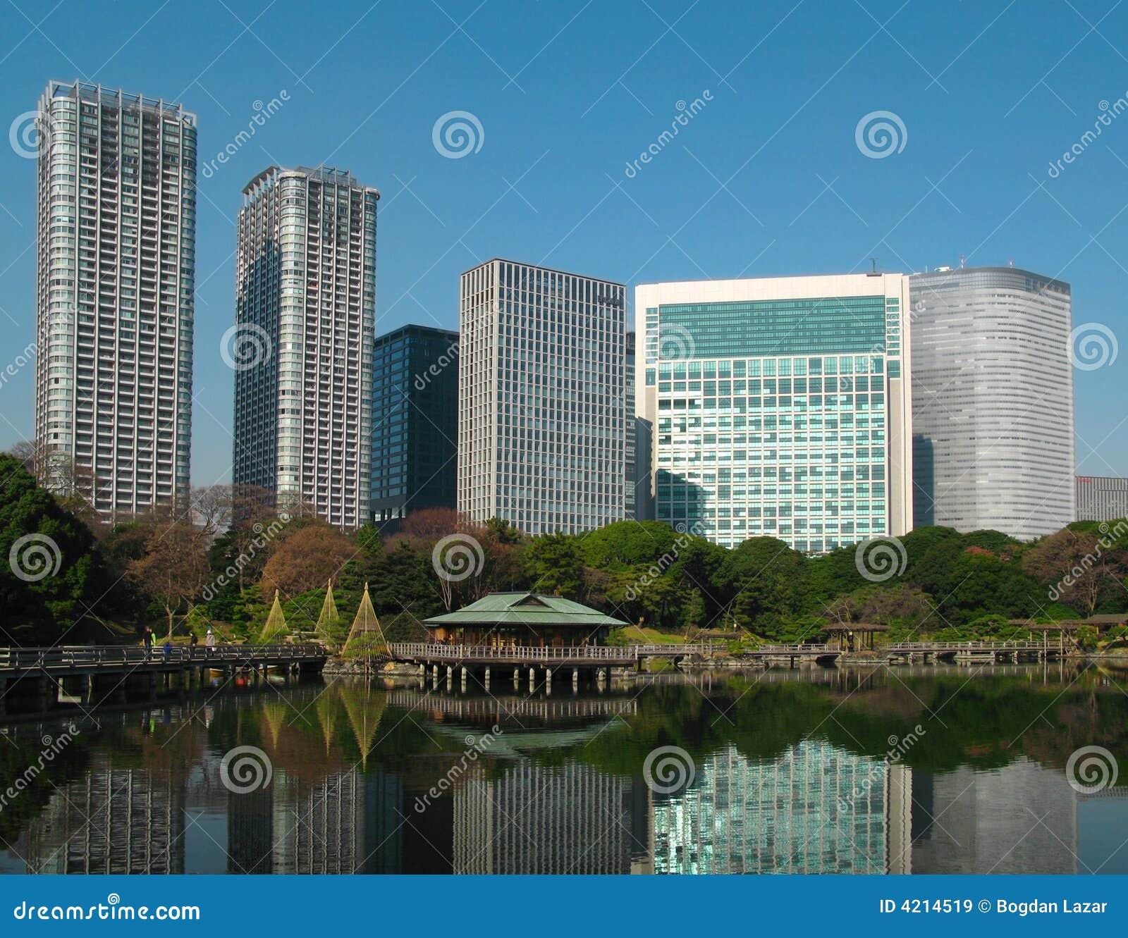 Het theehuis van Nakajima, Tokyo, Japan