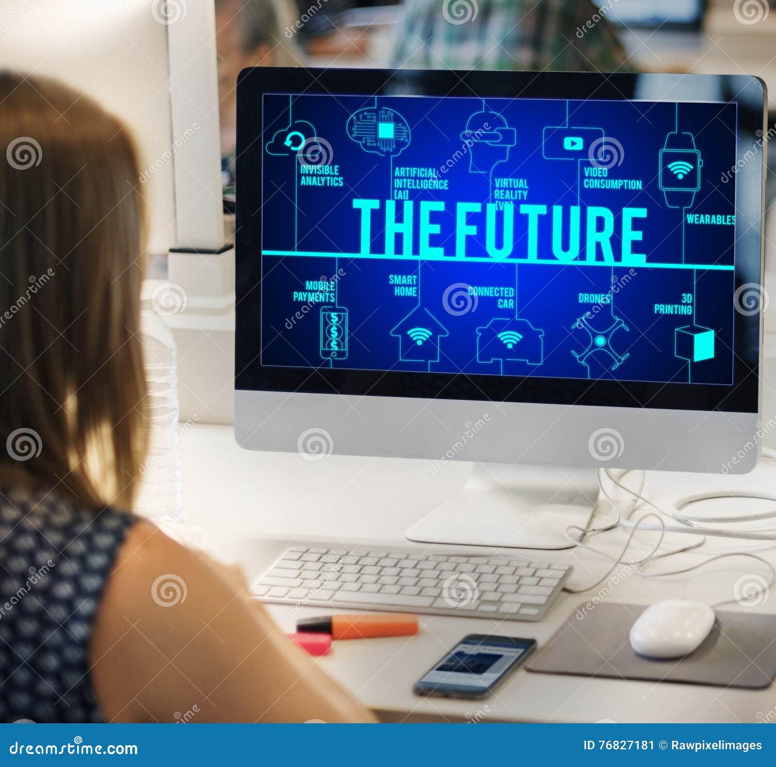 Het Toekomstige Verbonden Concept van de Hommelstechnologie