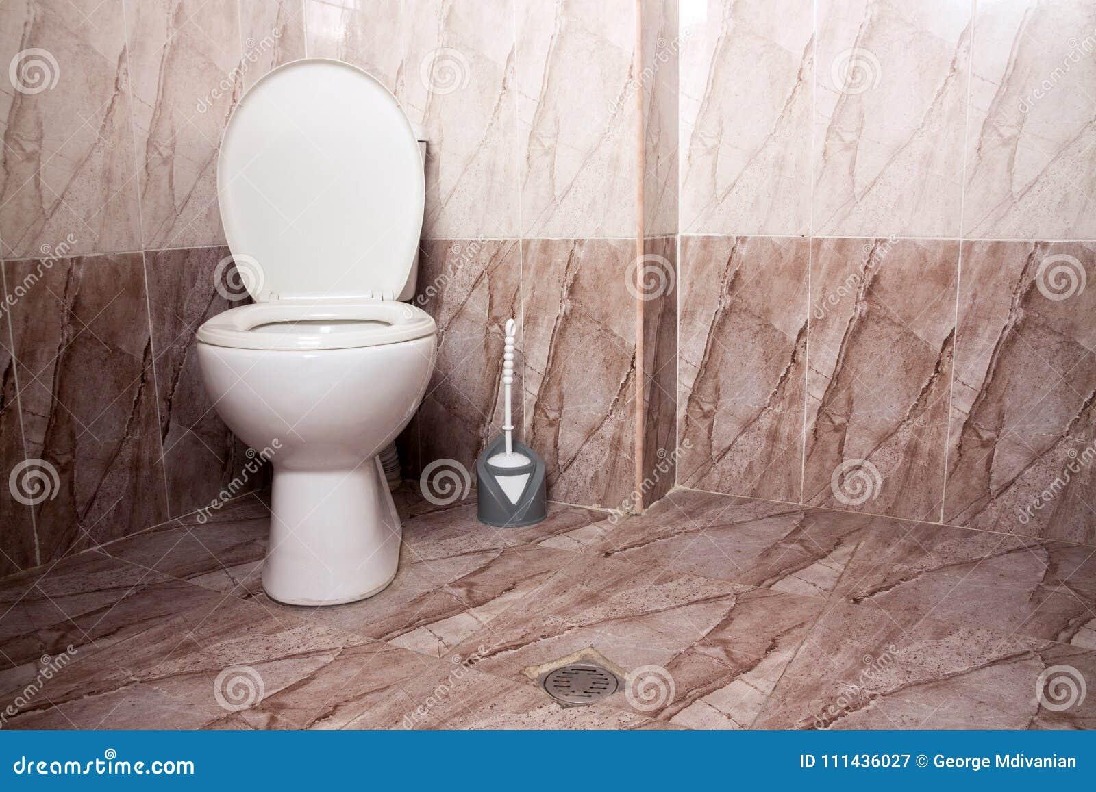 Het toilet van het huistoilet