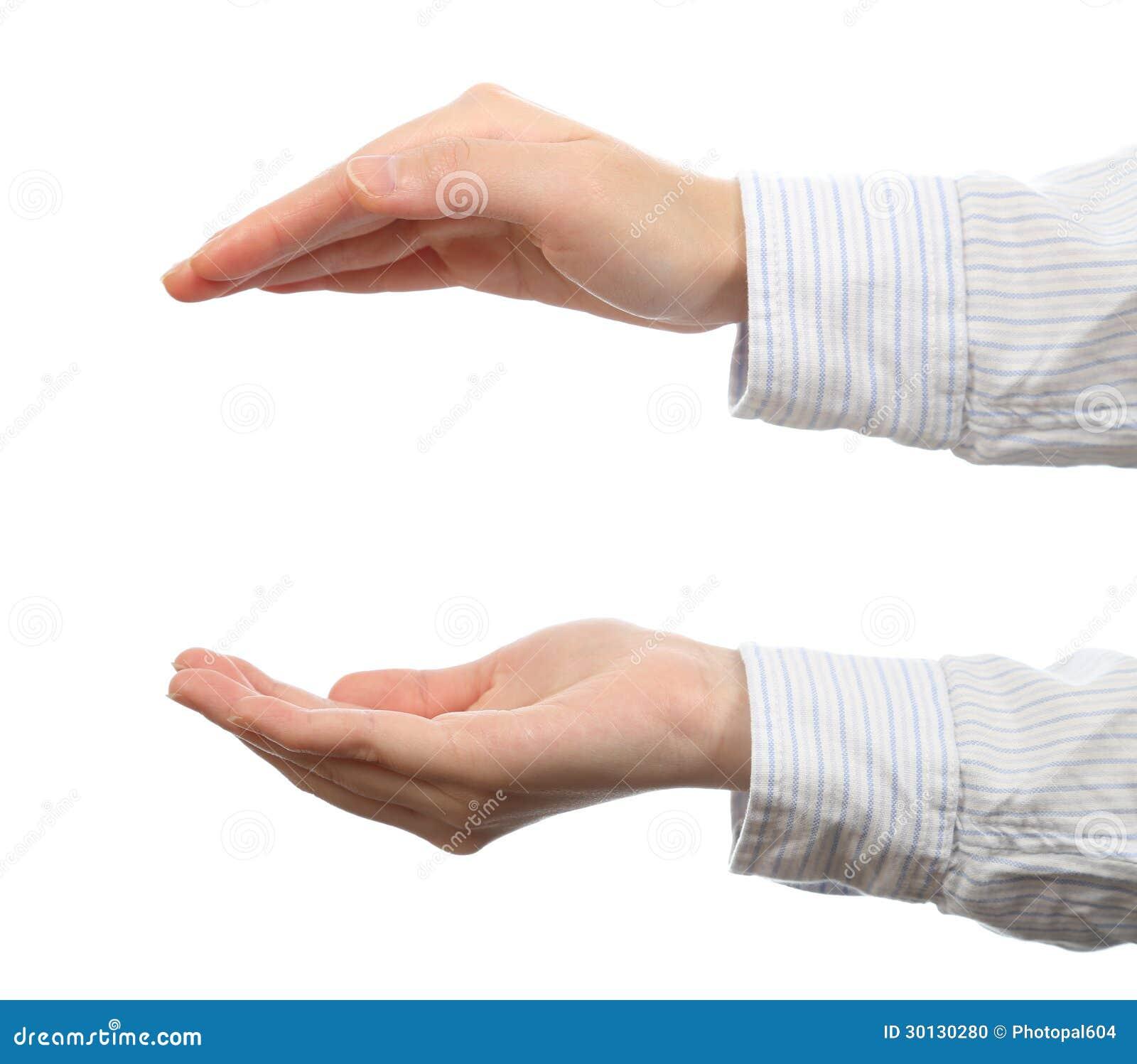Het gebaar van de hand