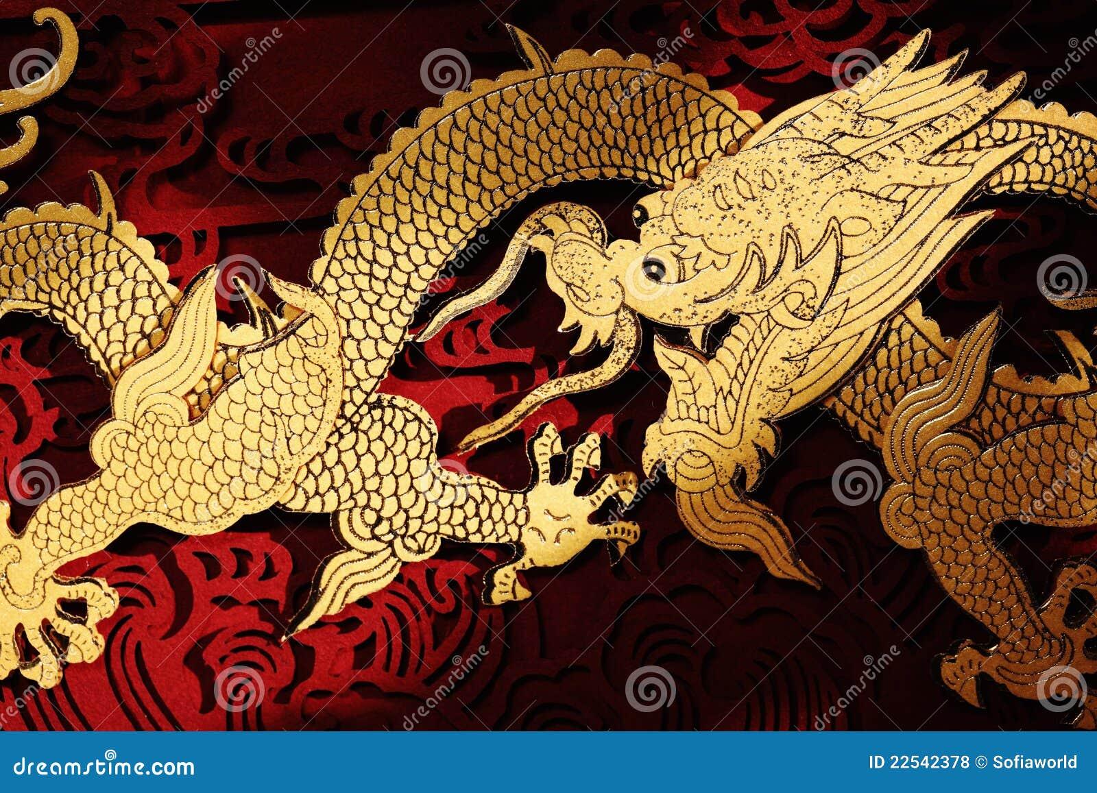 Het traditionele chinese draak schilderen royalty vrije stock foto 39 s afbeelding 22542378 - Geloof peinture ...