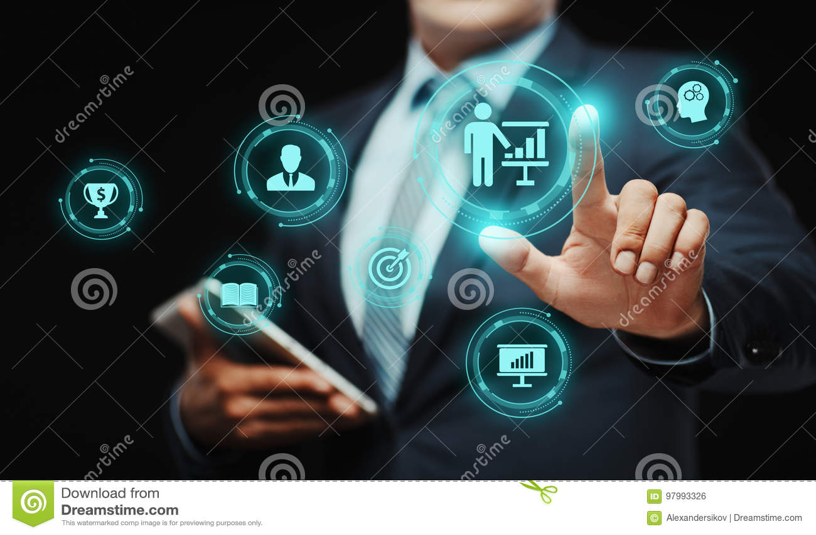 Het trainen van het Bedrijfs hoedeonderwijs Opleidingsontwikkeling e-Lerend Concept
