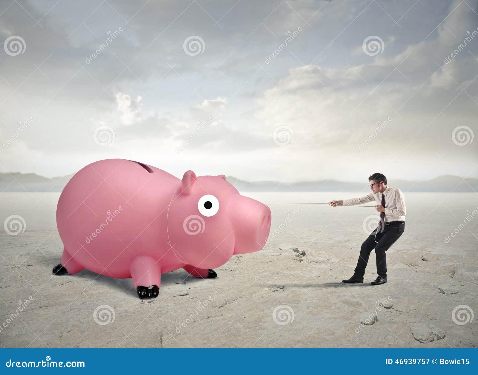Het trekken van geld