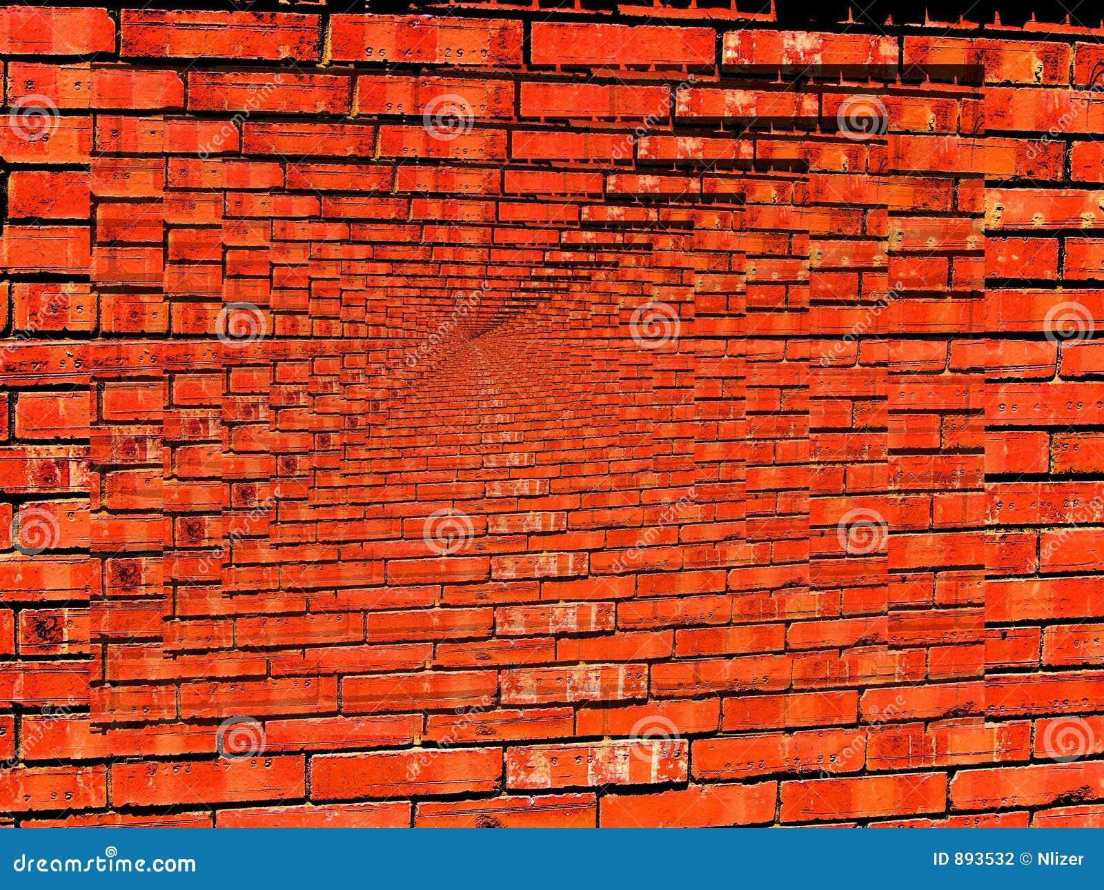 Het trillende behang van de oneindigheid van de bakstenen muur stock fotografie afbeelding 893532 - Behang effect van materie ...