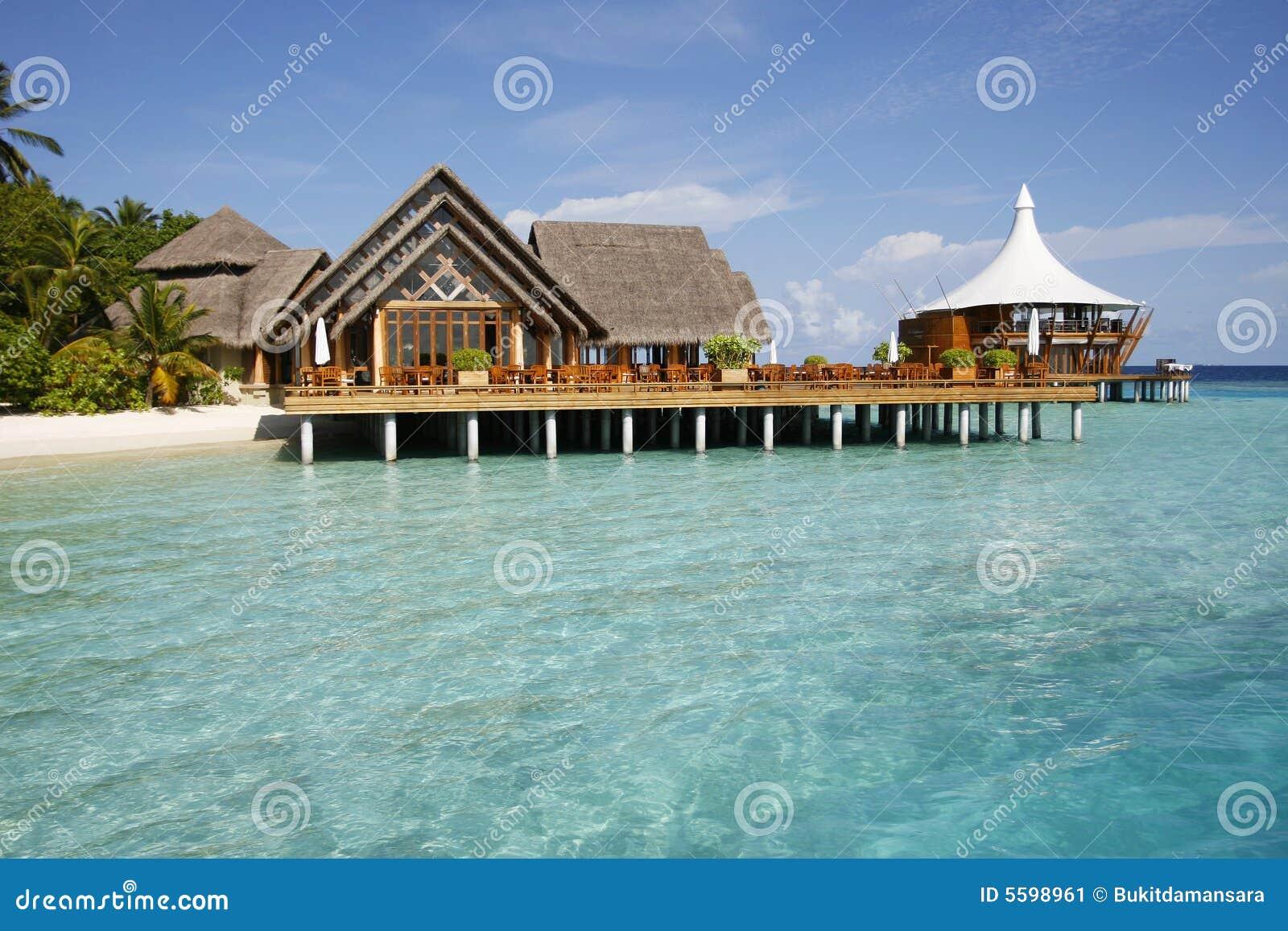 Het tropische huis van het platform stock afbeelding afbeelding 5598961 - Huis van het wereldkantoor newport ...
