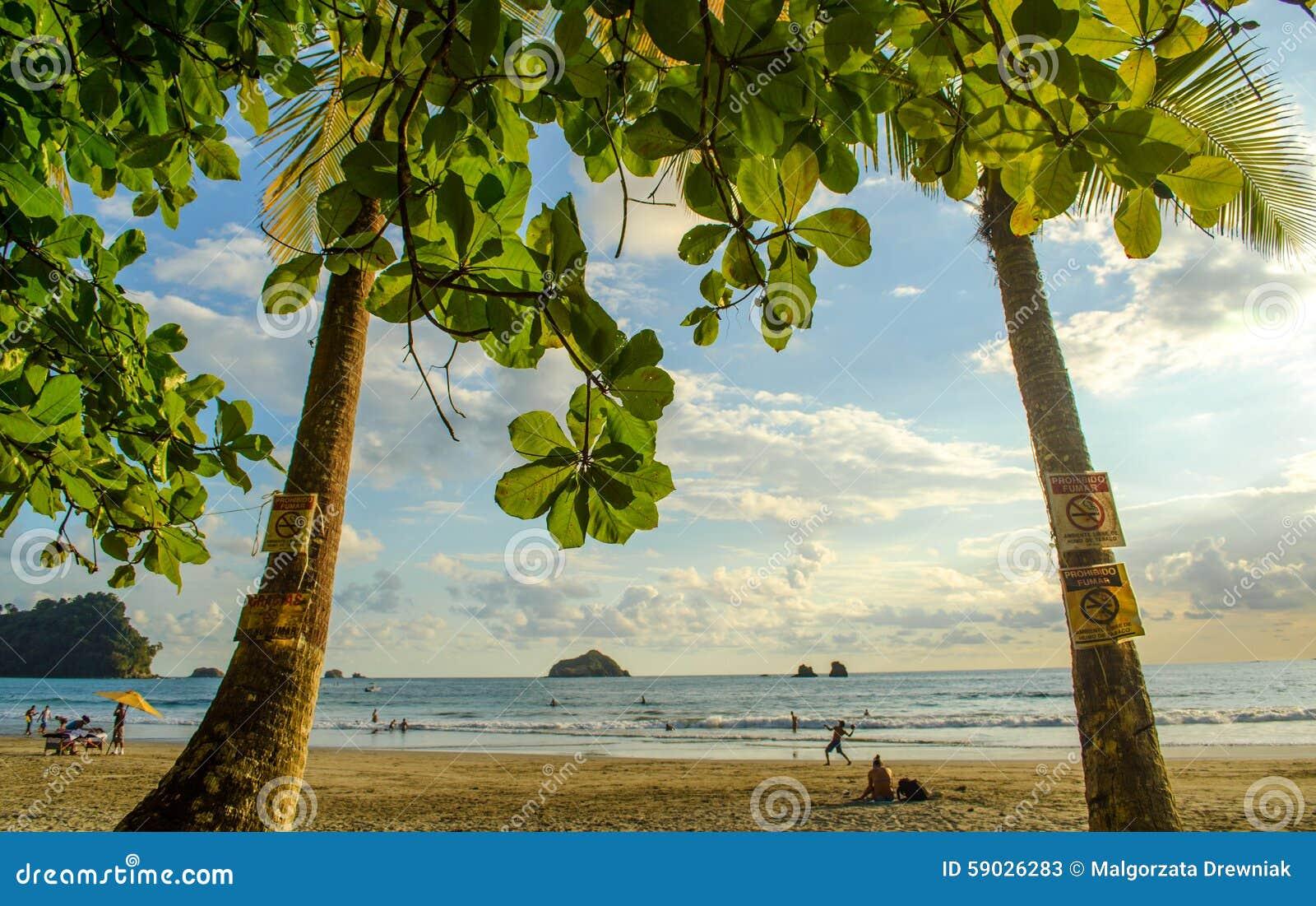 Het tropische strand van Manuel Antonio - Costa Rica