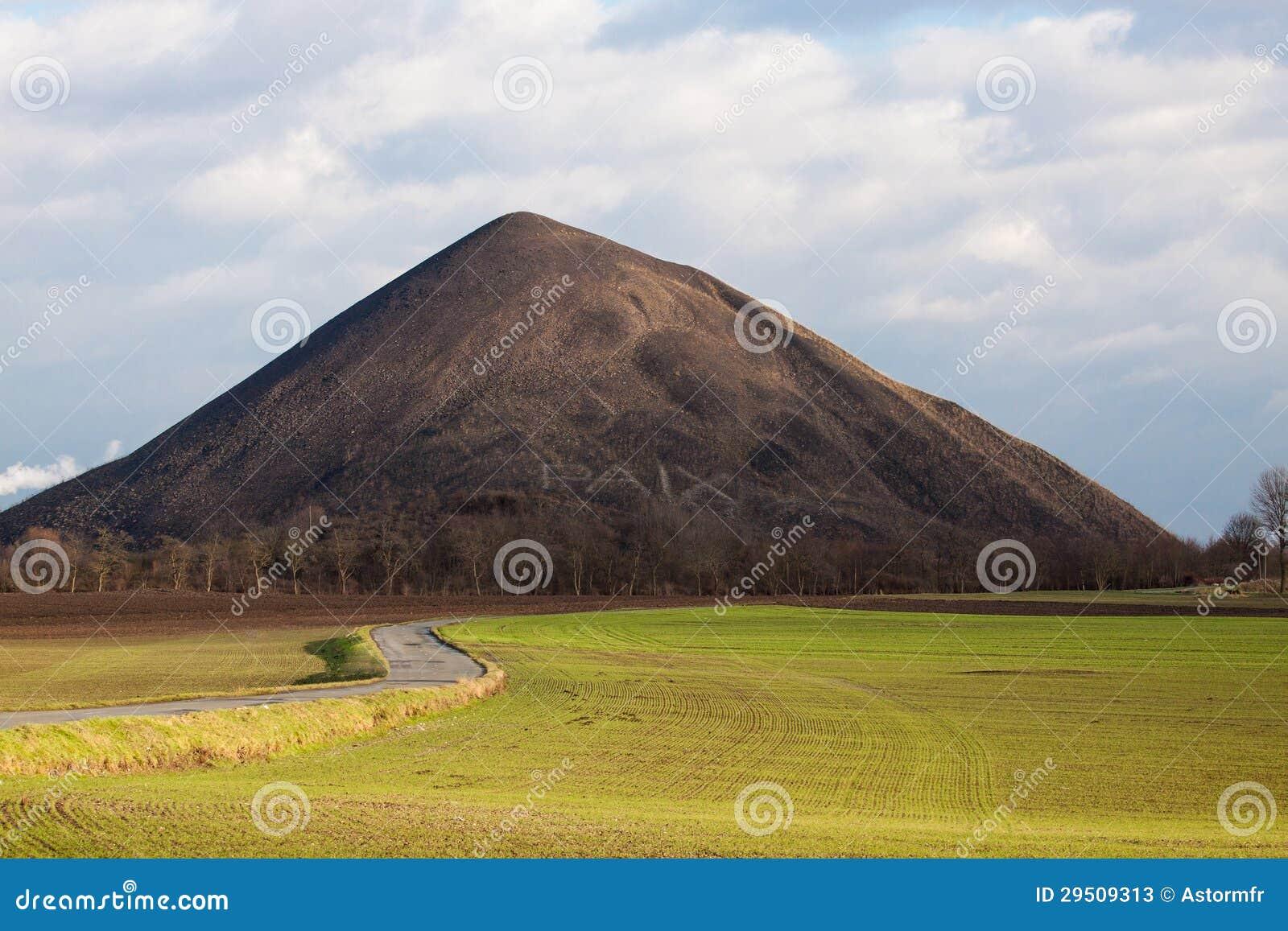 Het uiteinde van de steenkool