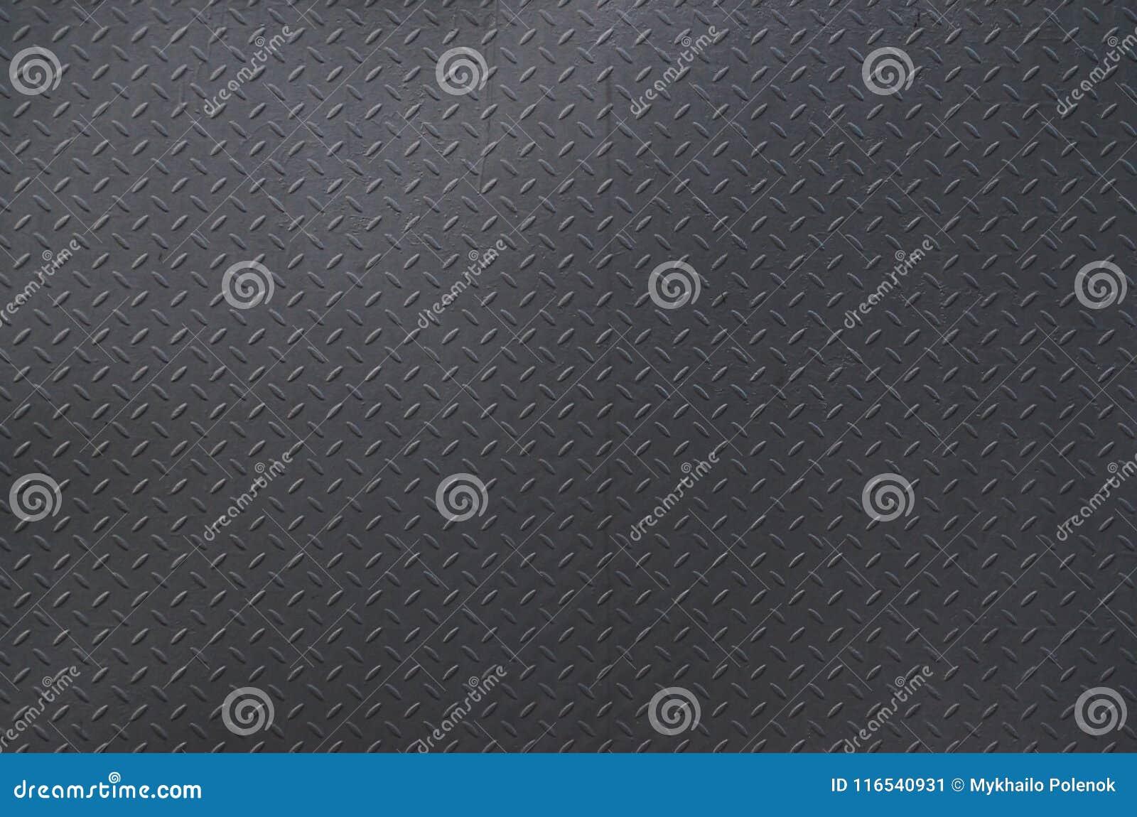 Het van de achtergrond metaaltextuur aluminium borstelde zilver De plaat van de metaalvloer met diamantpatroon Grungeachtergrond