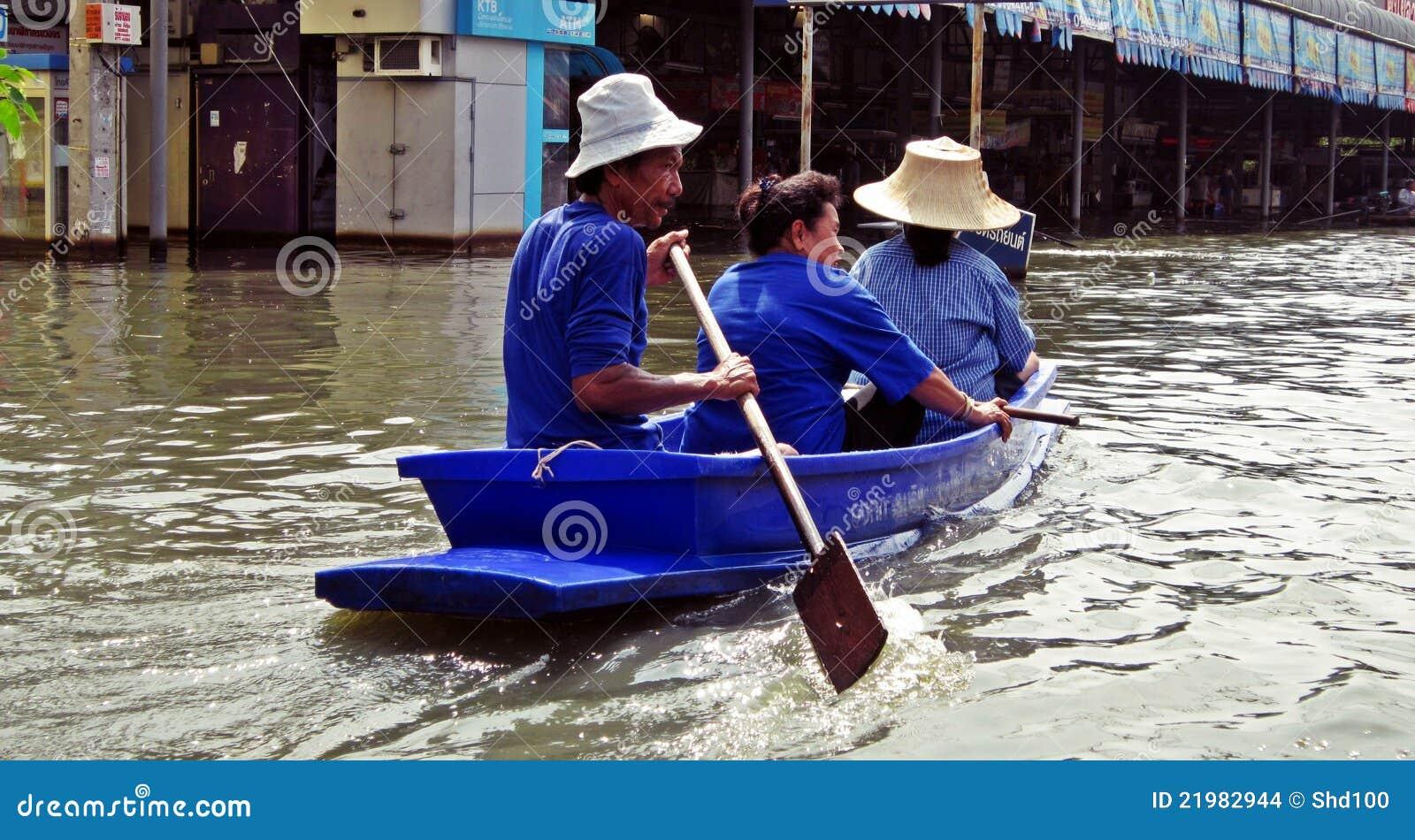 Het varen door Floodwater 2