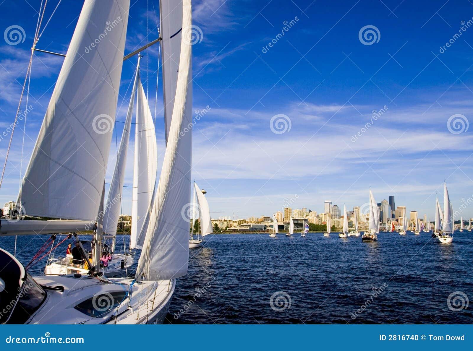 Het varen op Baai Elliott