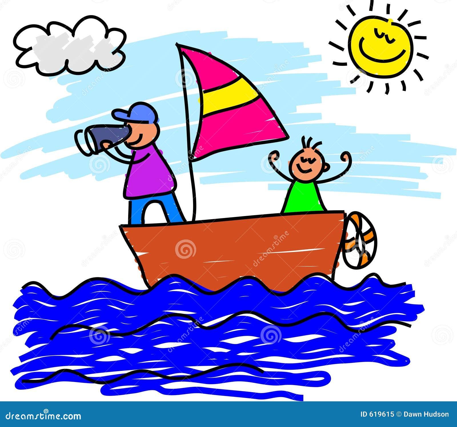 Het varen reis