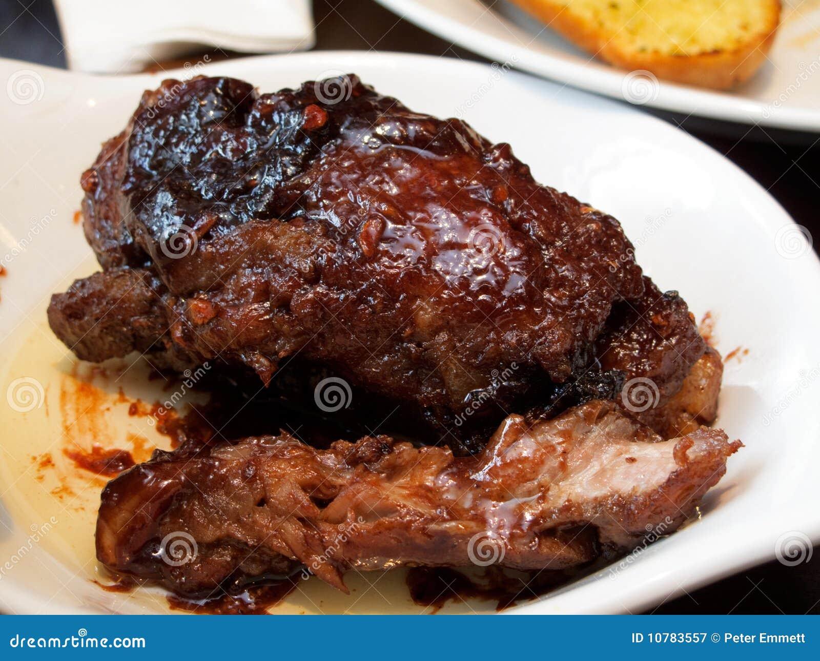 Het Varkensvlees van de barbecue