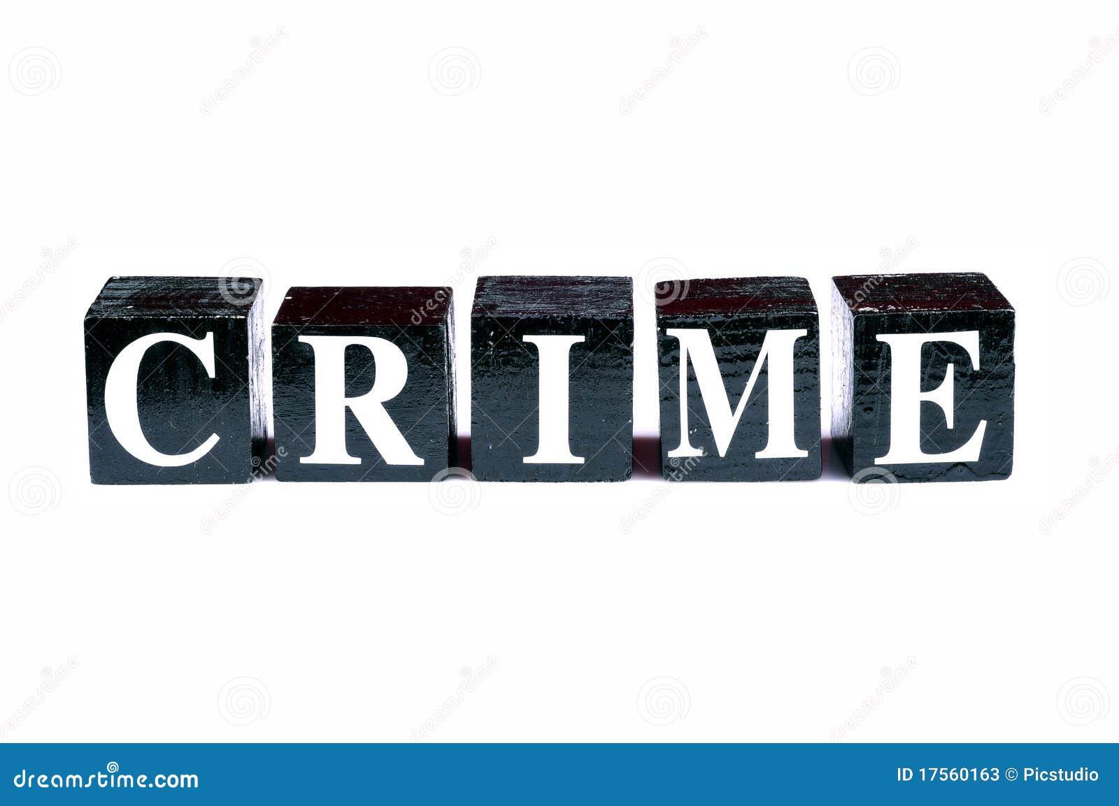 Het vechten misdaad
