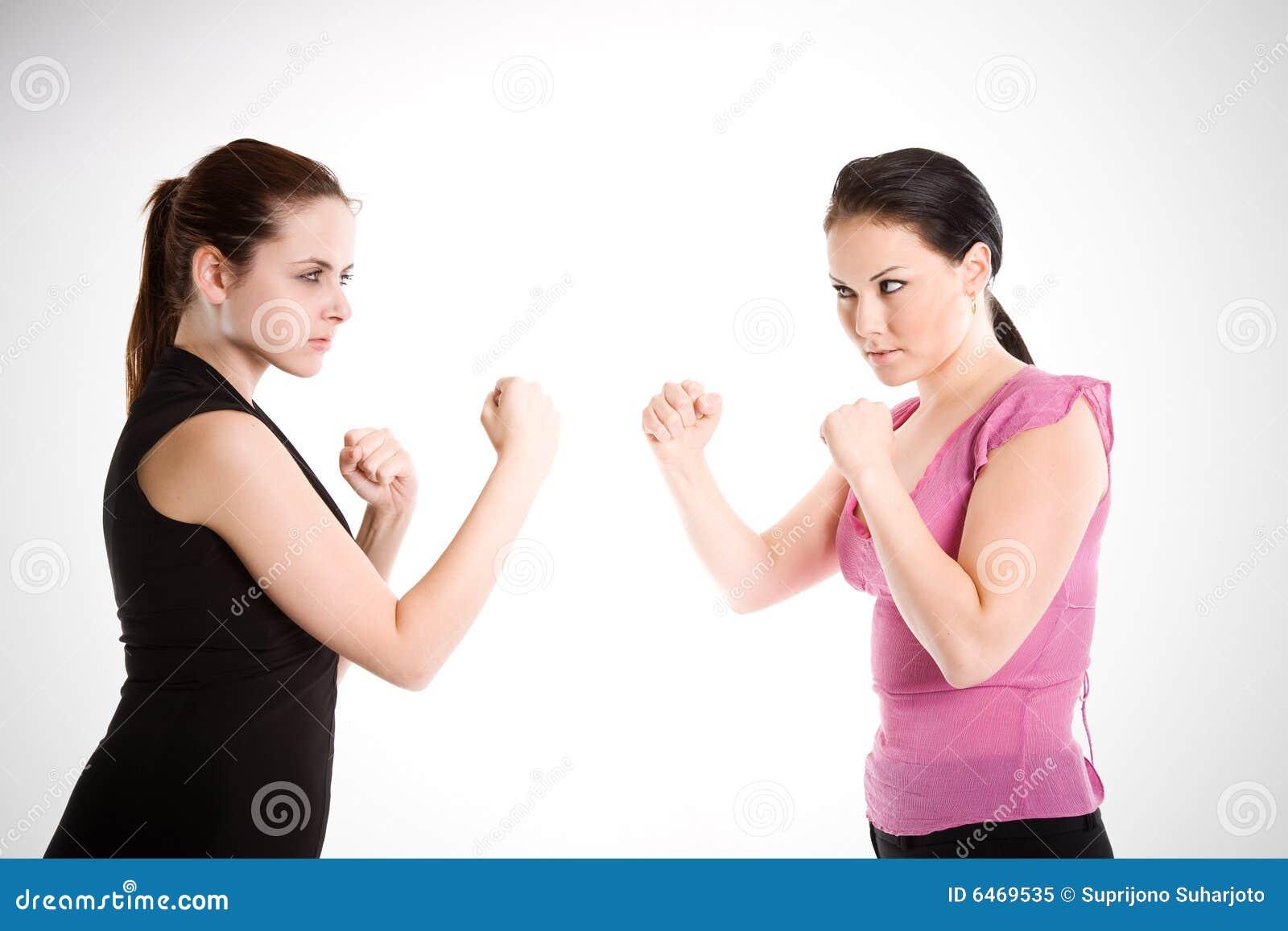 Het vechten van onderneemsters