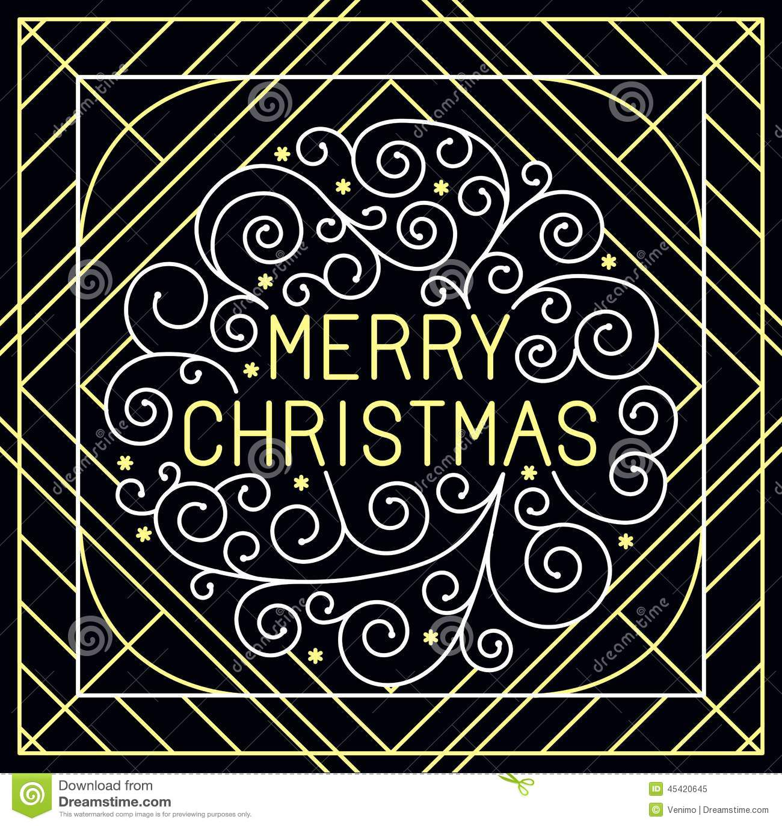 Het vector vrolijke Kerstmishand van letters voorzien