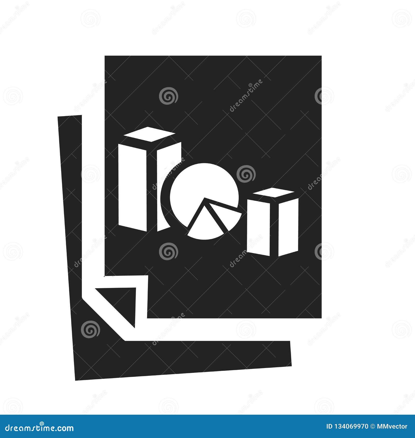 Het het vectordieteken en symbool van het cirkeldiagrampictogram op witte achtergrond wordt geïsoleerd, het concept van het cirke