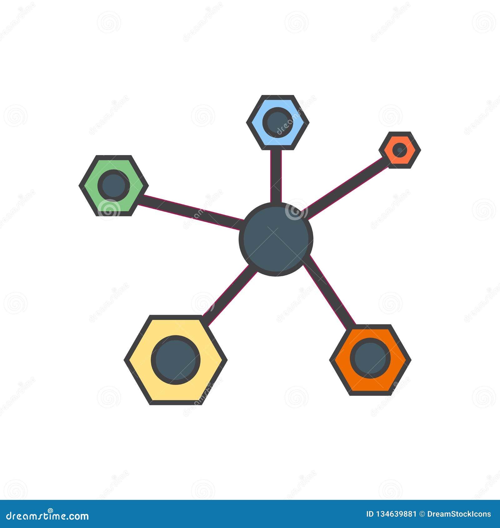 Het het vectordieteken en symbool van het structuurpictogram op witte achtergrond, het concept van het Structuurembleem wordt geï