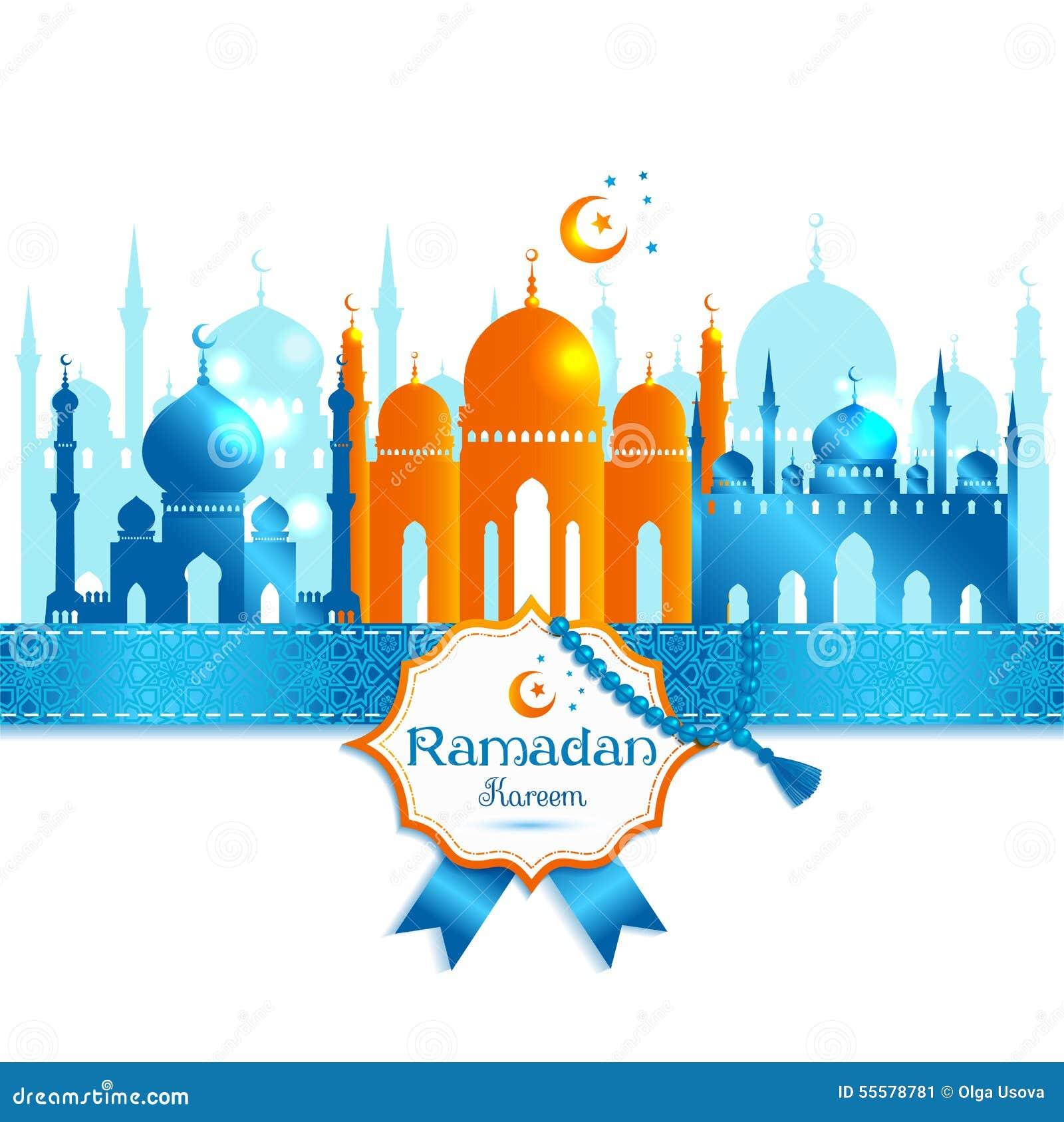 Het vectorkader van illustratie Arabische ramadan kareem, ontwerp celebrat