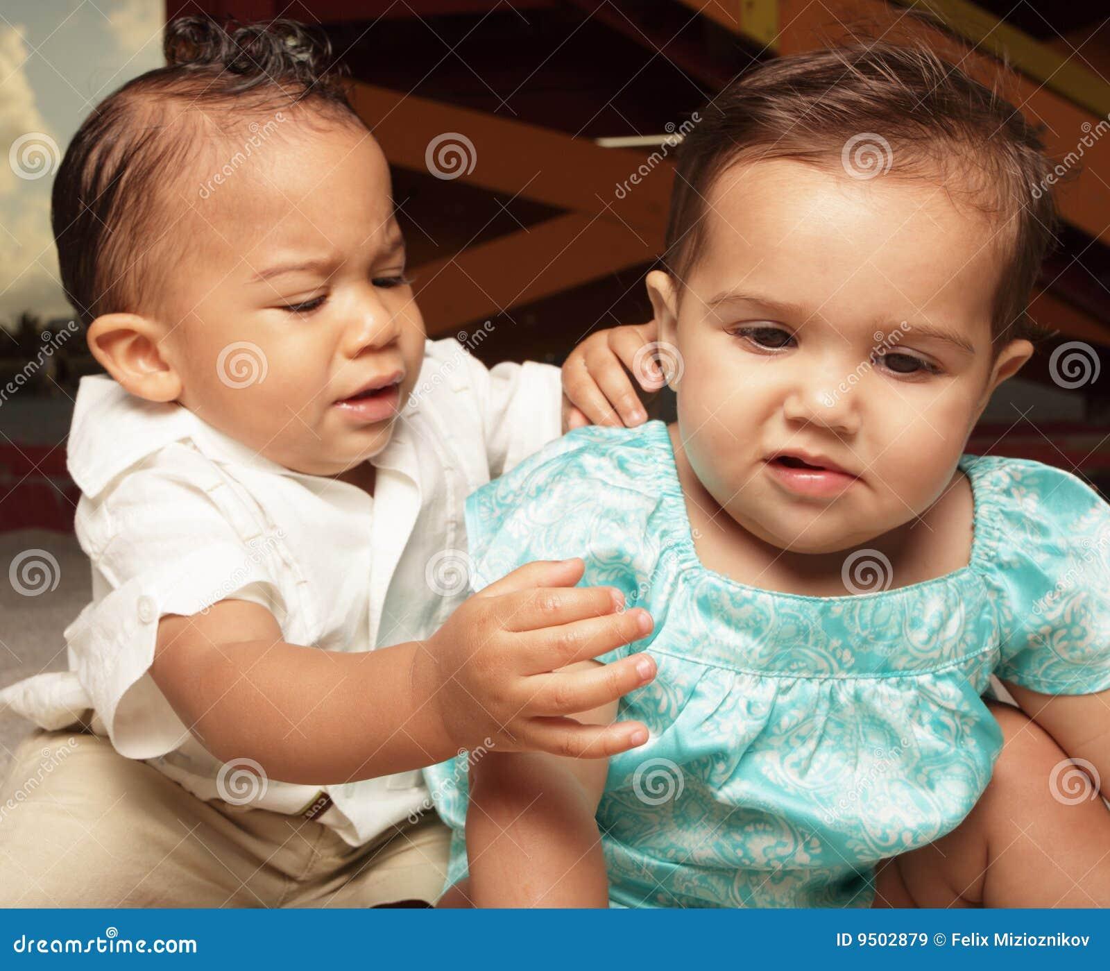 Het verdelen van babys