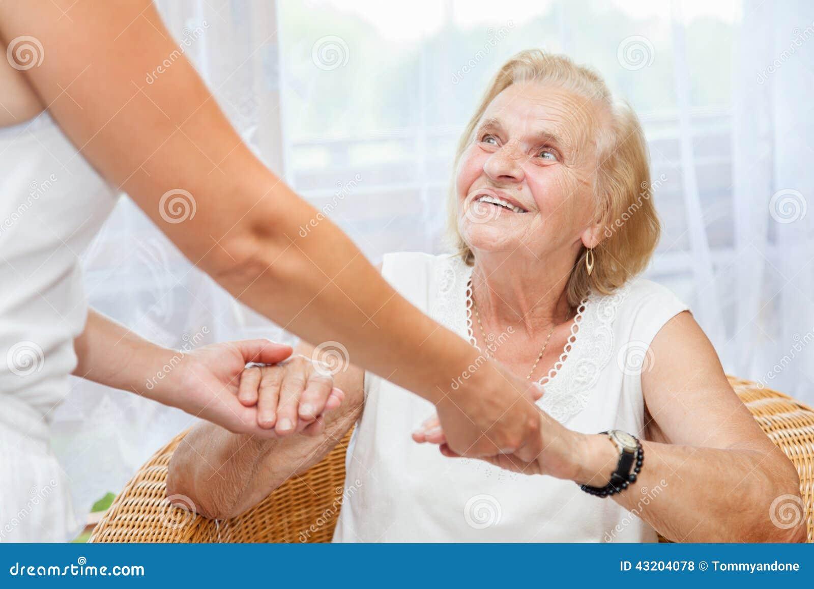 Het verstrekken van zorg voor bejaarden