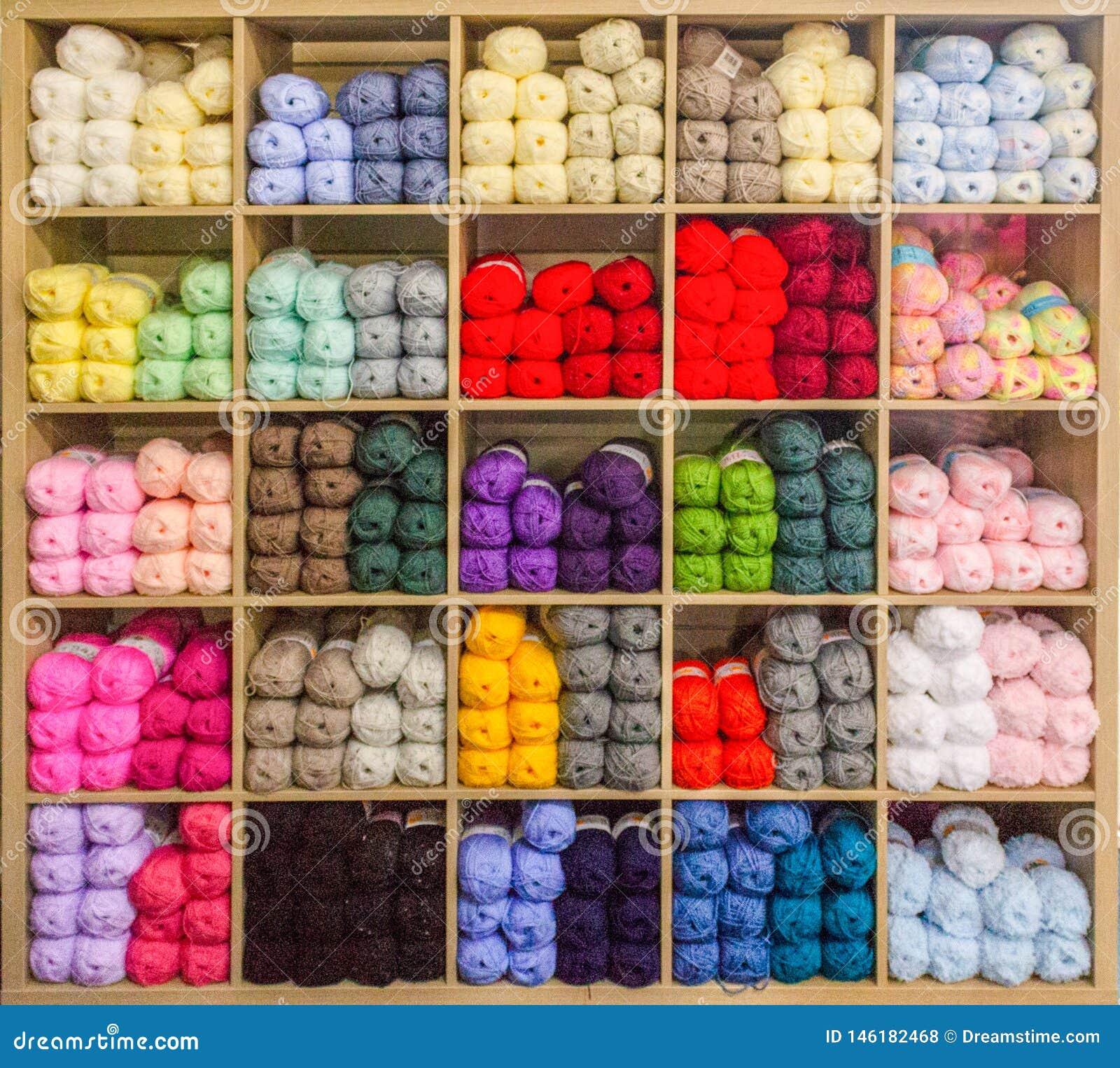 Het vertellen van een multi-coloured garen