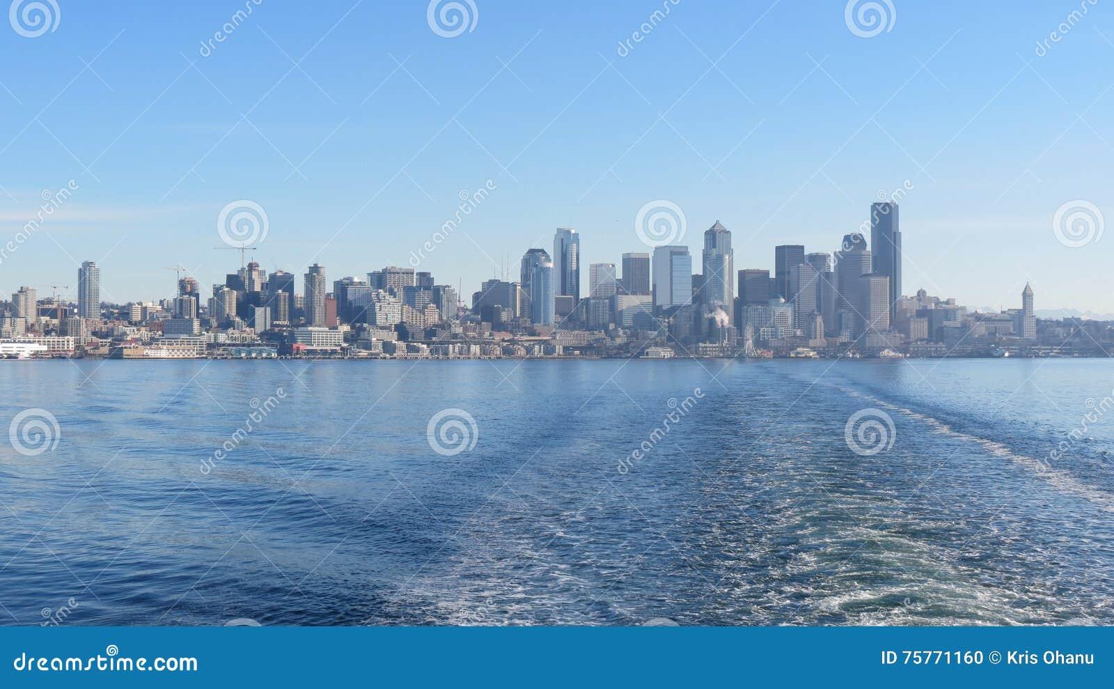 Het vertrekken Seattle