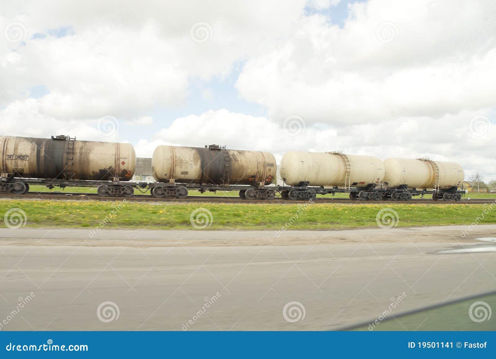Het vervoer van de brandstof