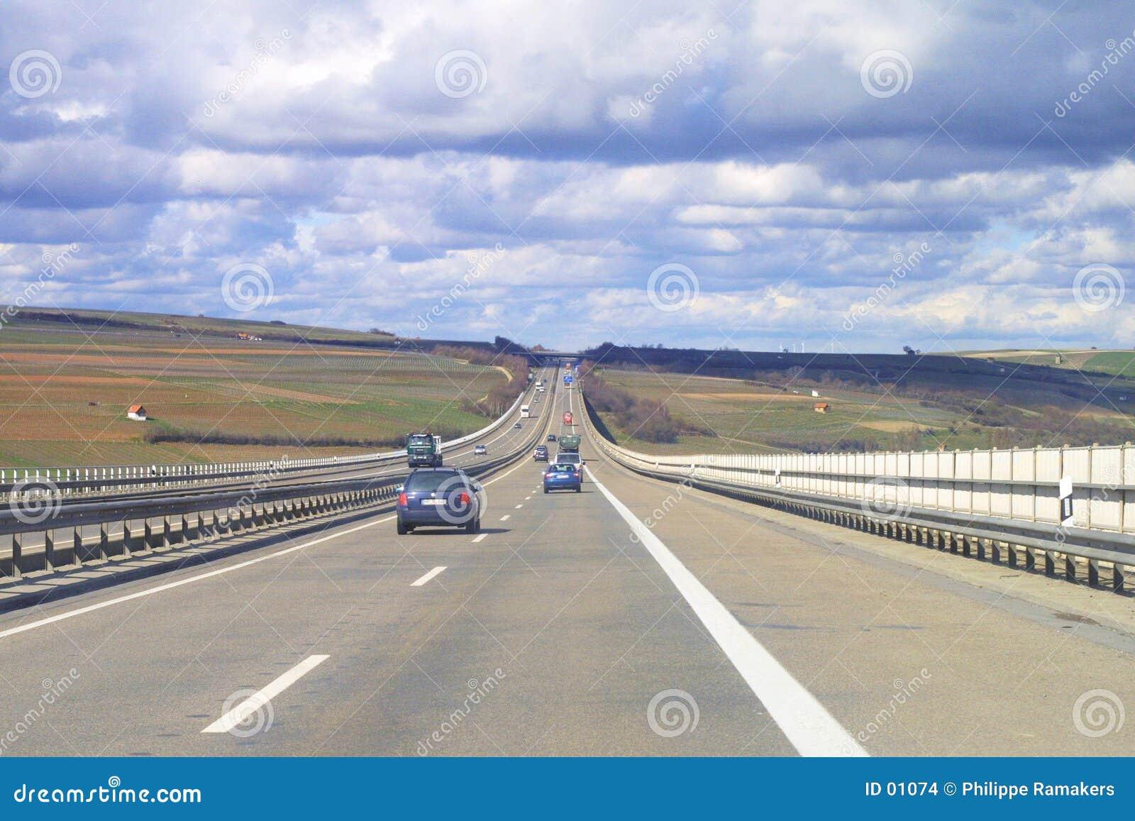 Het vervoer van de weg