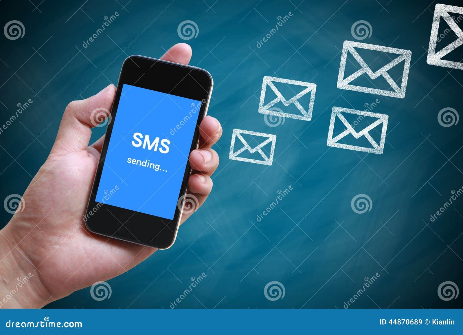Het verzenden SMS