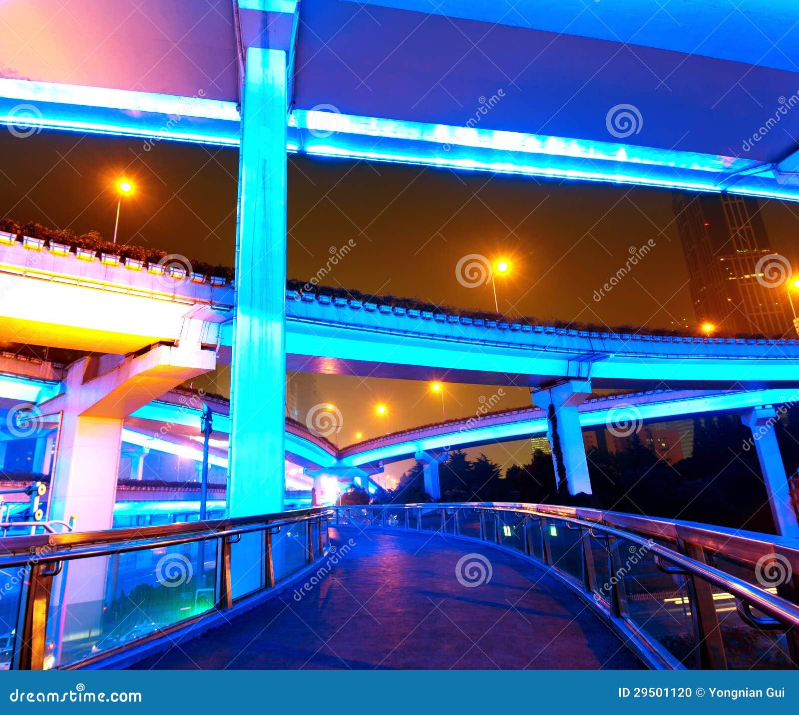 Het viaduct van Shanghai
