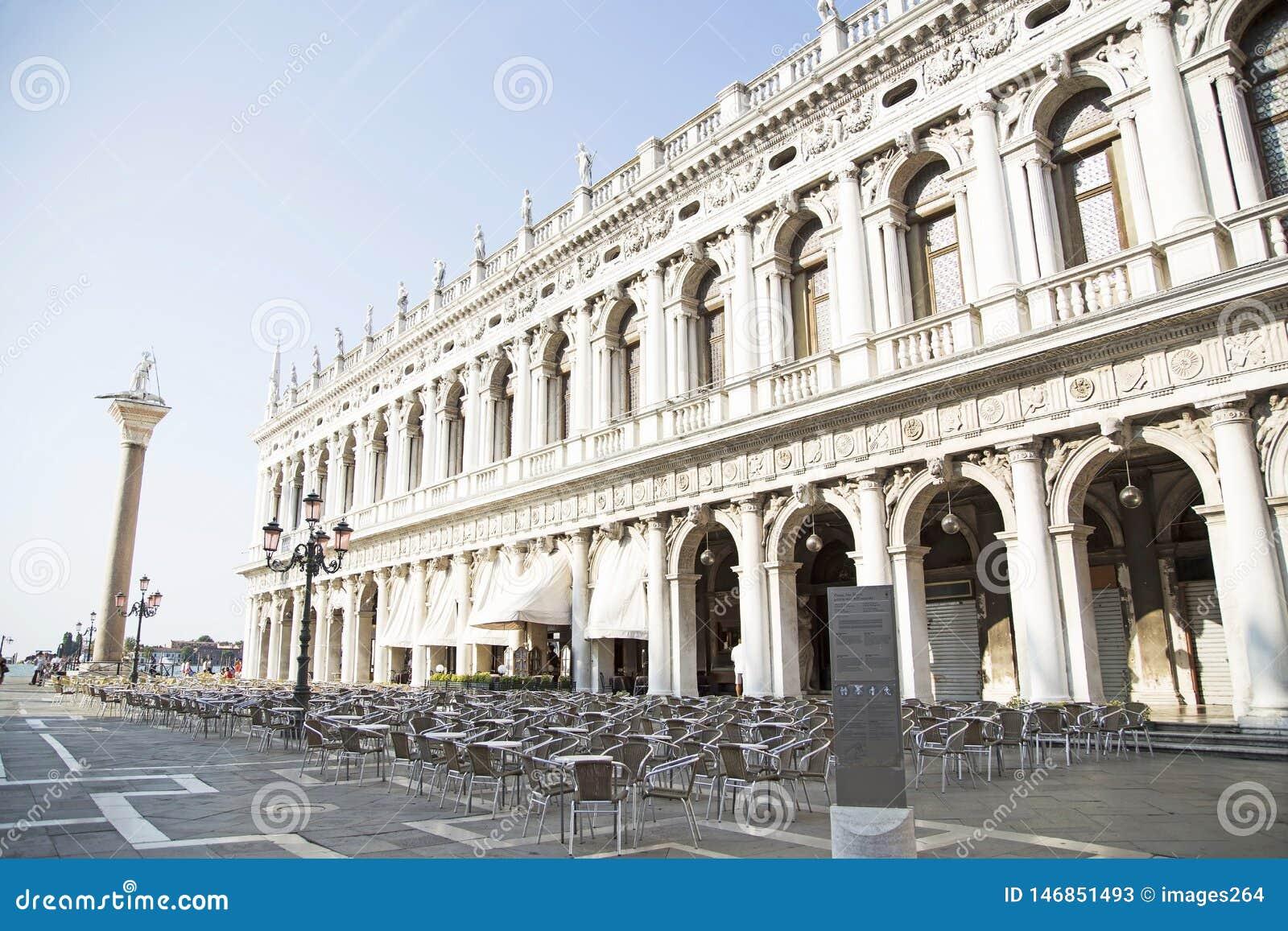 Het Vierkant van San Marco in Veneti?