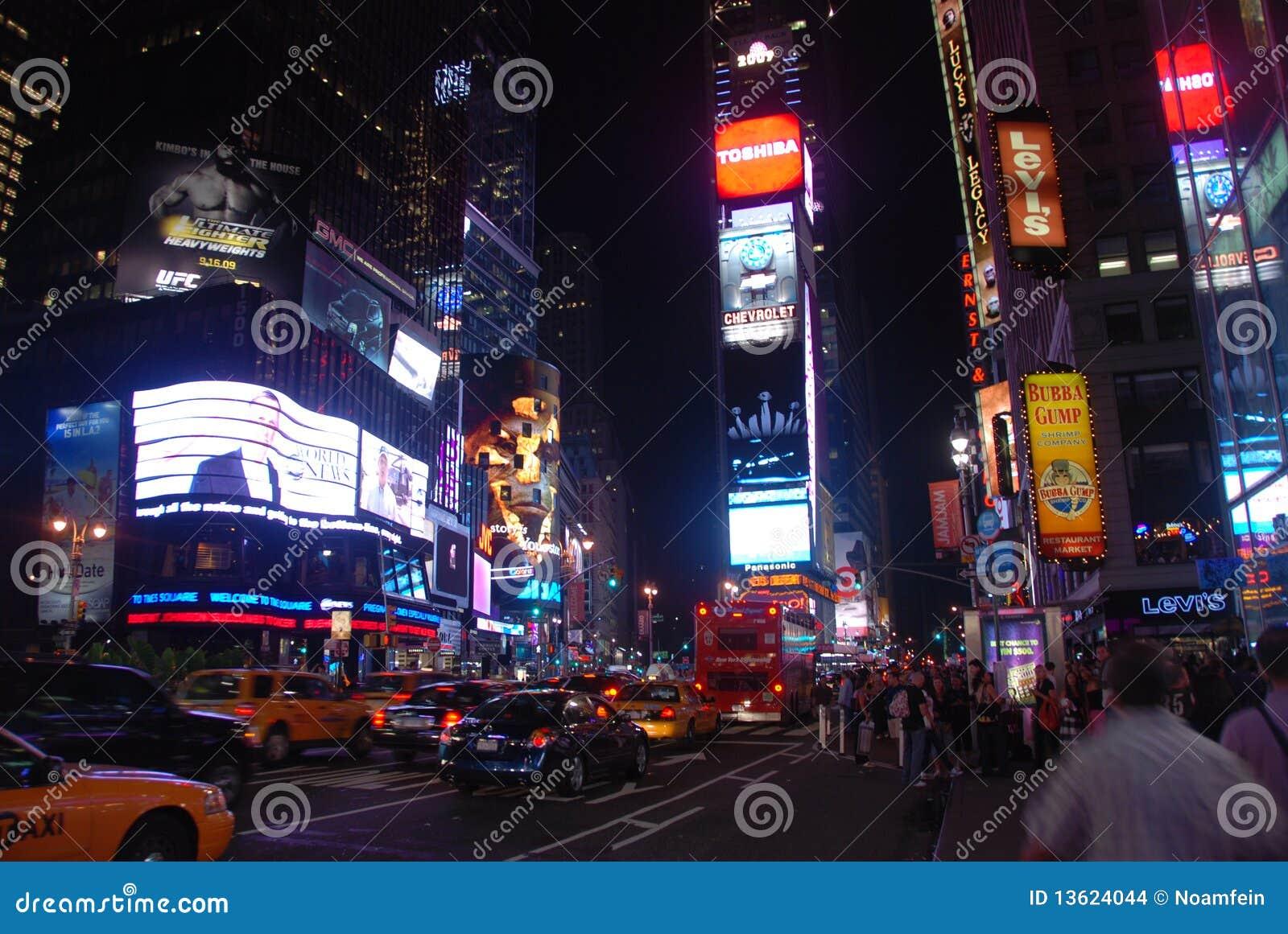 Het vierkant van tijden - de stad van New York