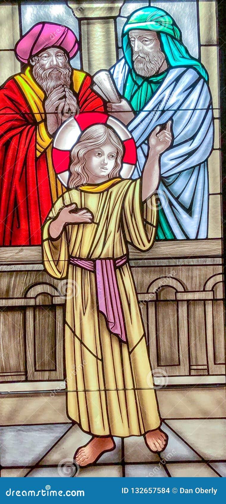 Het vinden van het Kind Jesus in de Tempel