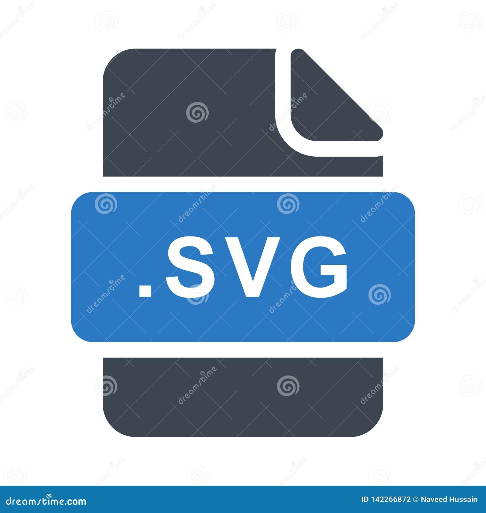 Het vlakke vectorpictogram van de Svg glyph kleur