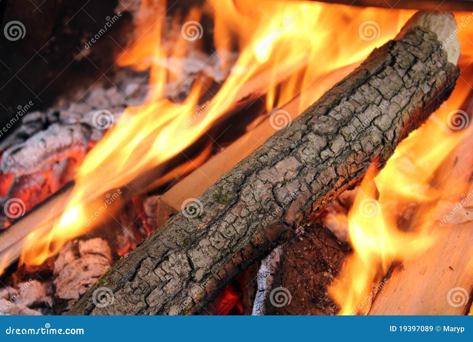 Het vlammen opent fie het programma