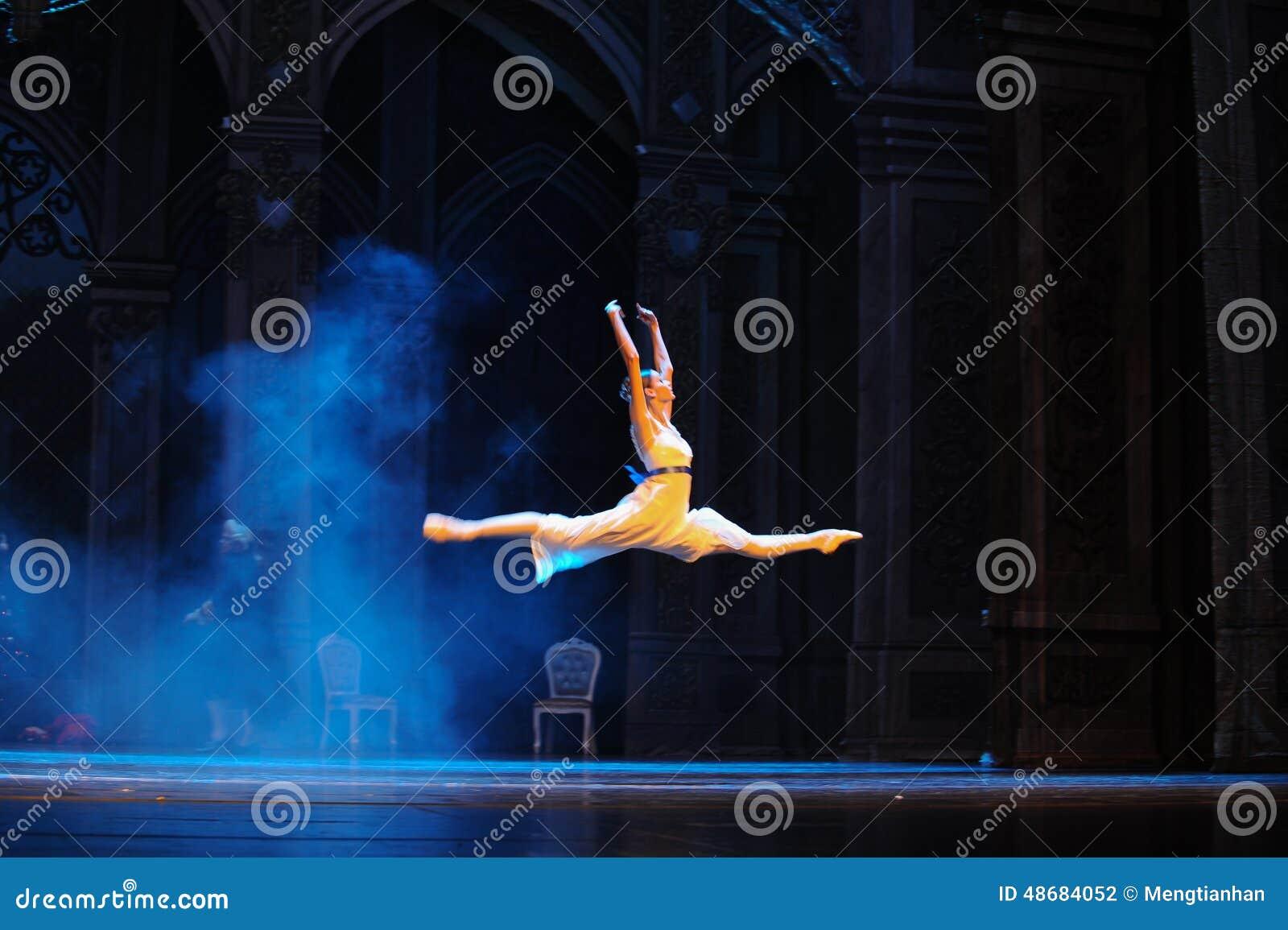 Het vliegen in de dreamworld-Balletnotekraker