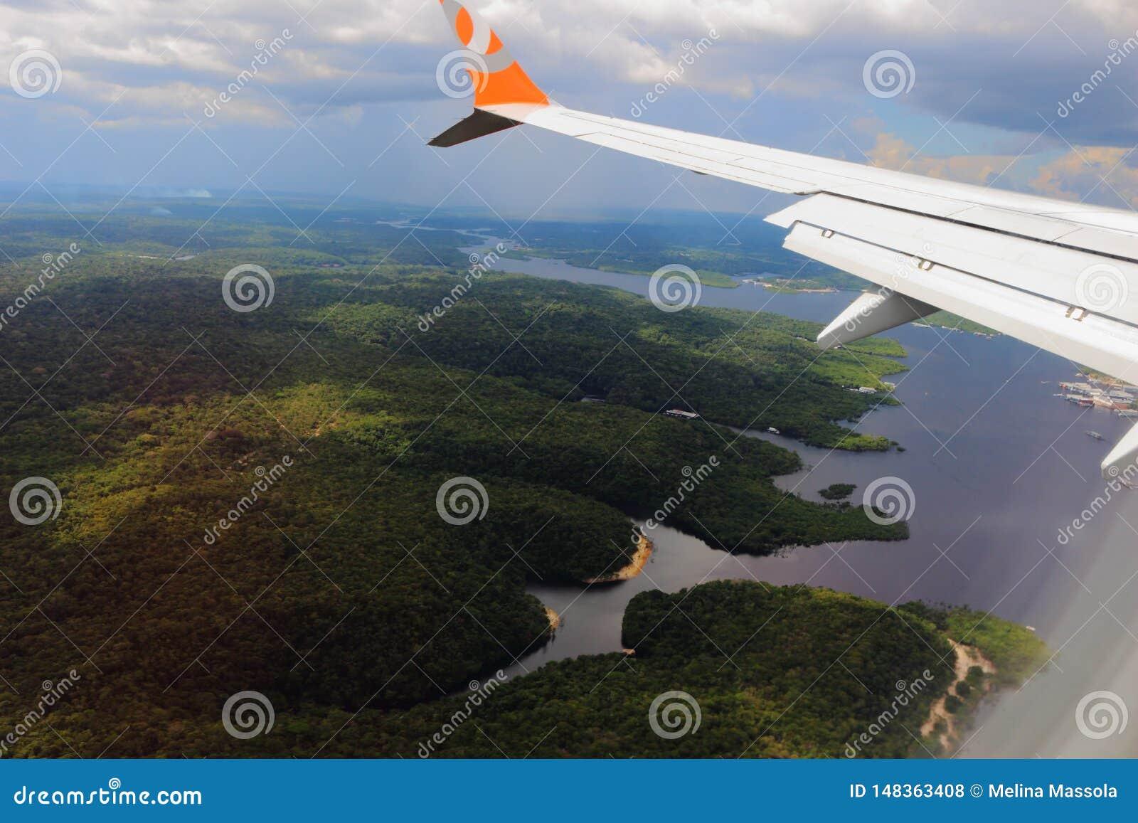Het vliegen in Gol-bedrijfluchtvaartlijn