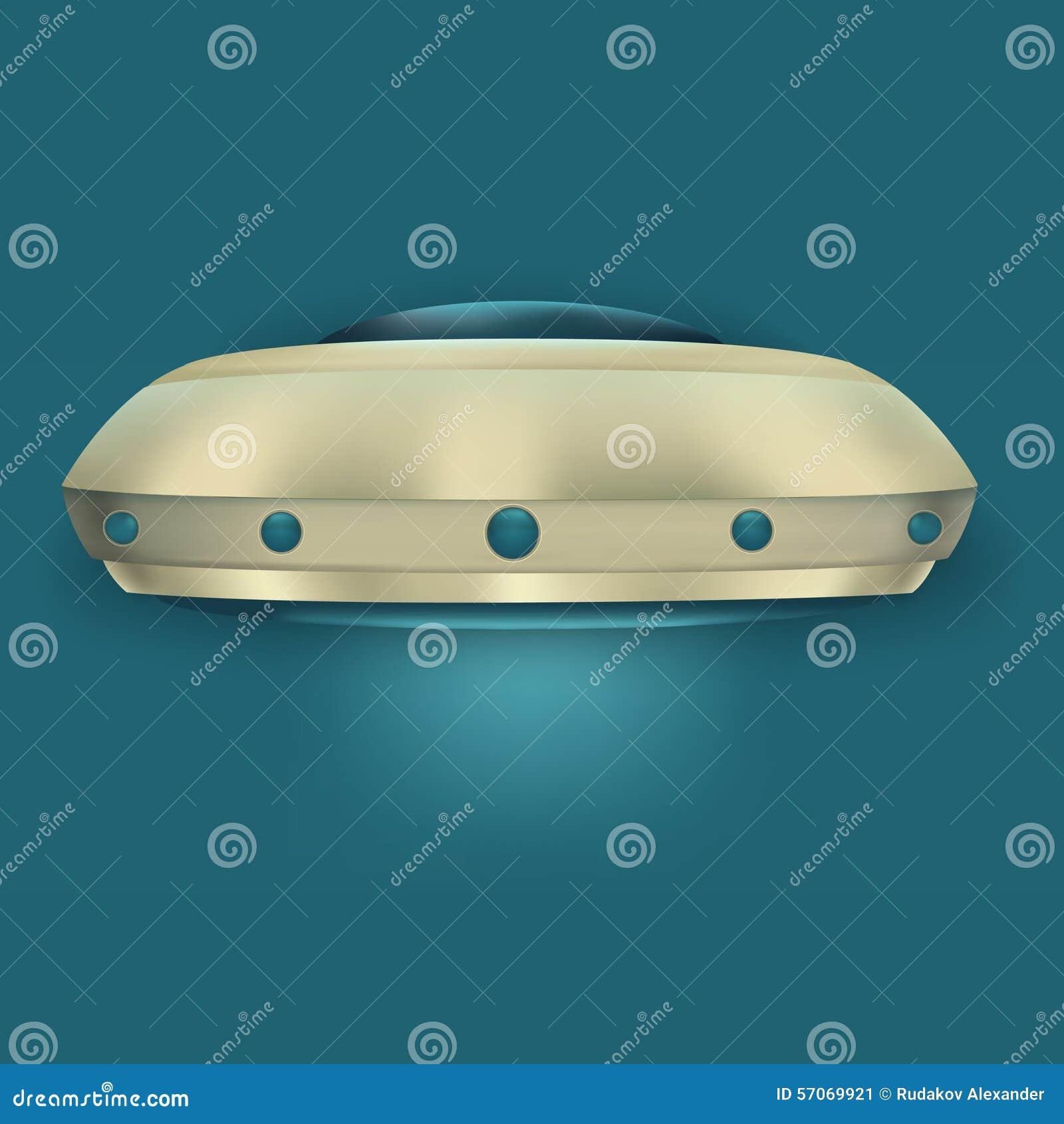 Het vliegen objecten UFO