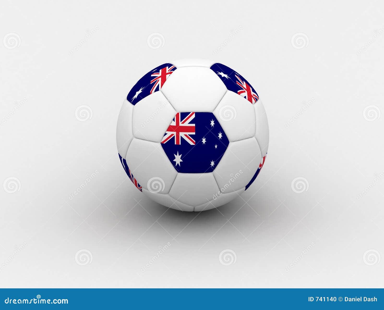 Het voetbalbal van Australië