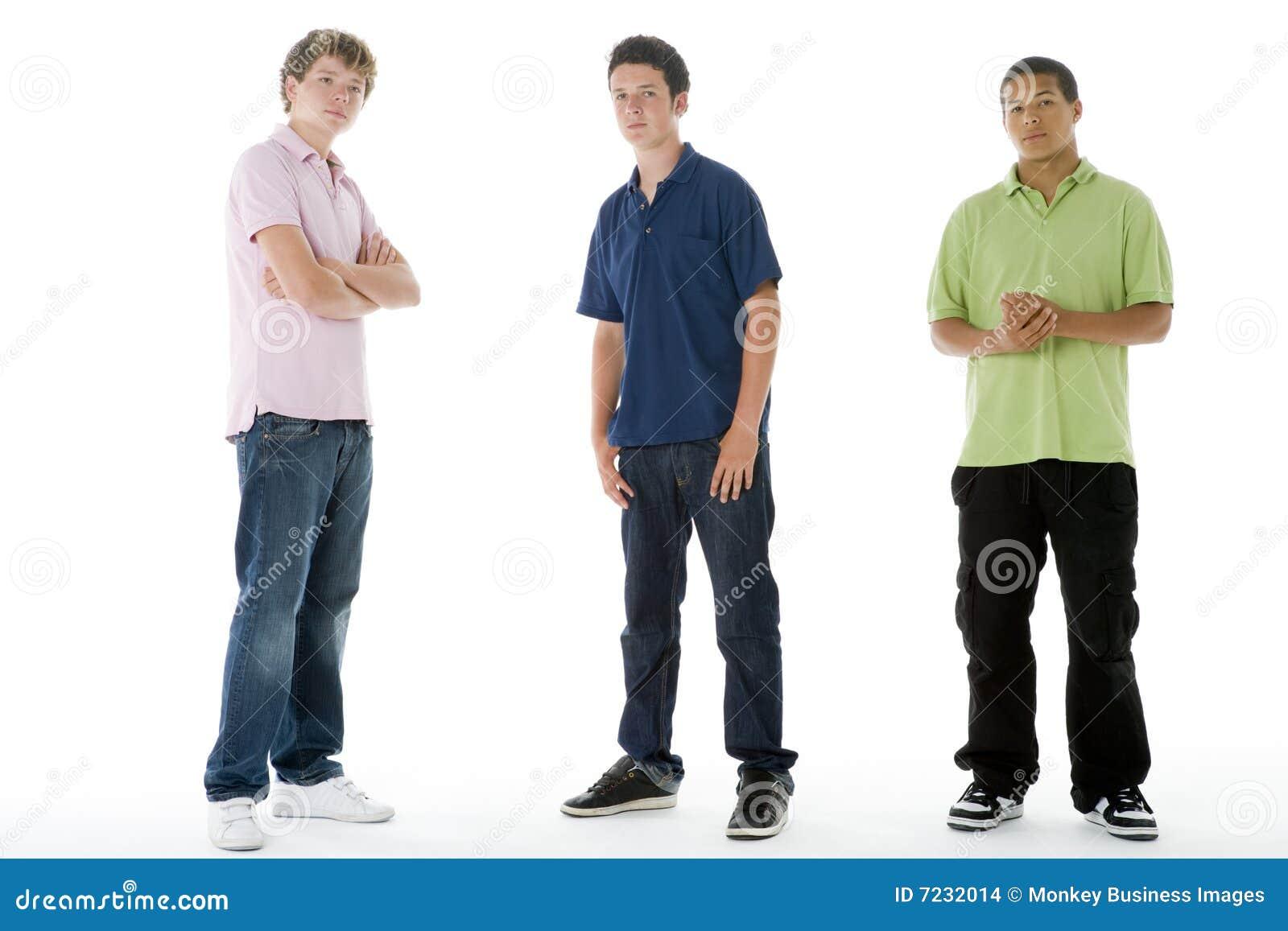 Het volledige portret van de lengte van tieners stock afbeeldingen afbeelding 7232014 - Het versieren van de tiener kamer ...