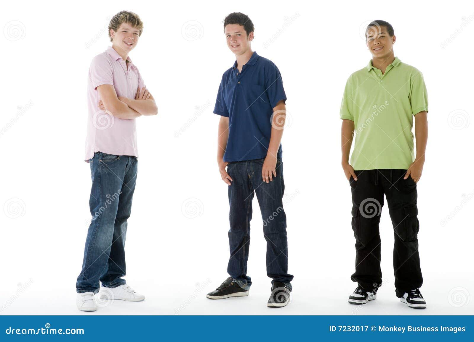 Het volledige Portret van de Lengte van Tieners